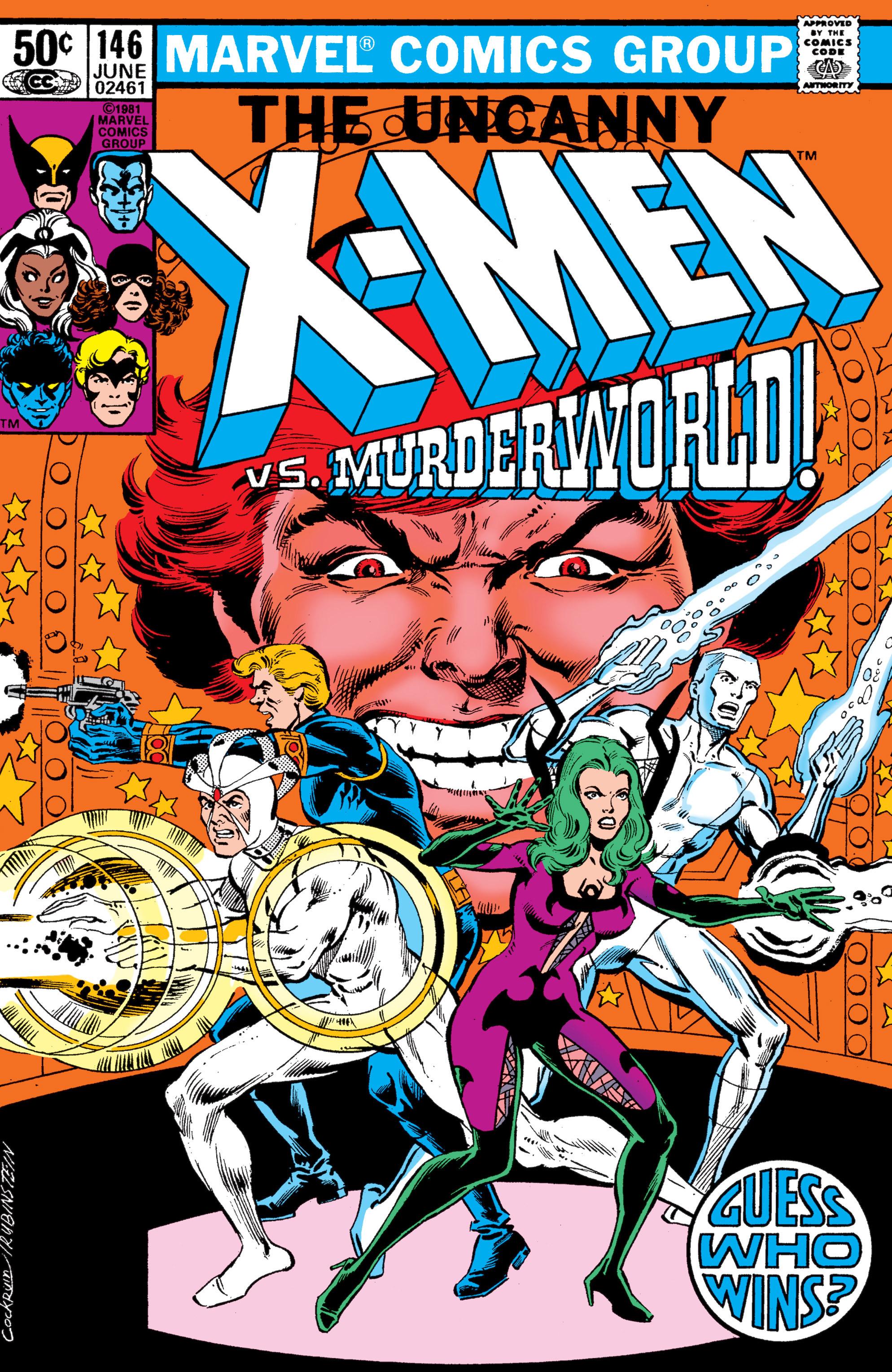 Read online Uncanny X-Men (1963) comic -  Issue #146 - 1
