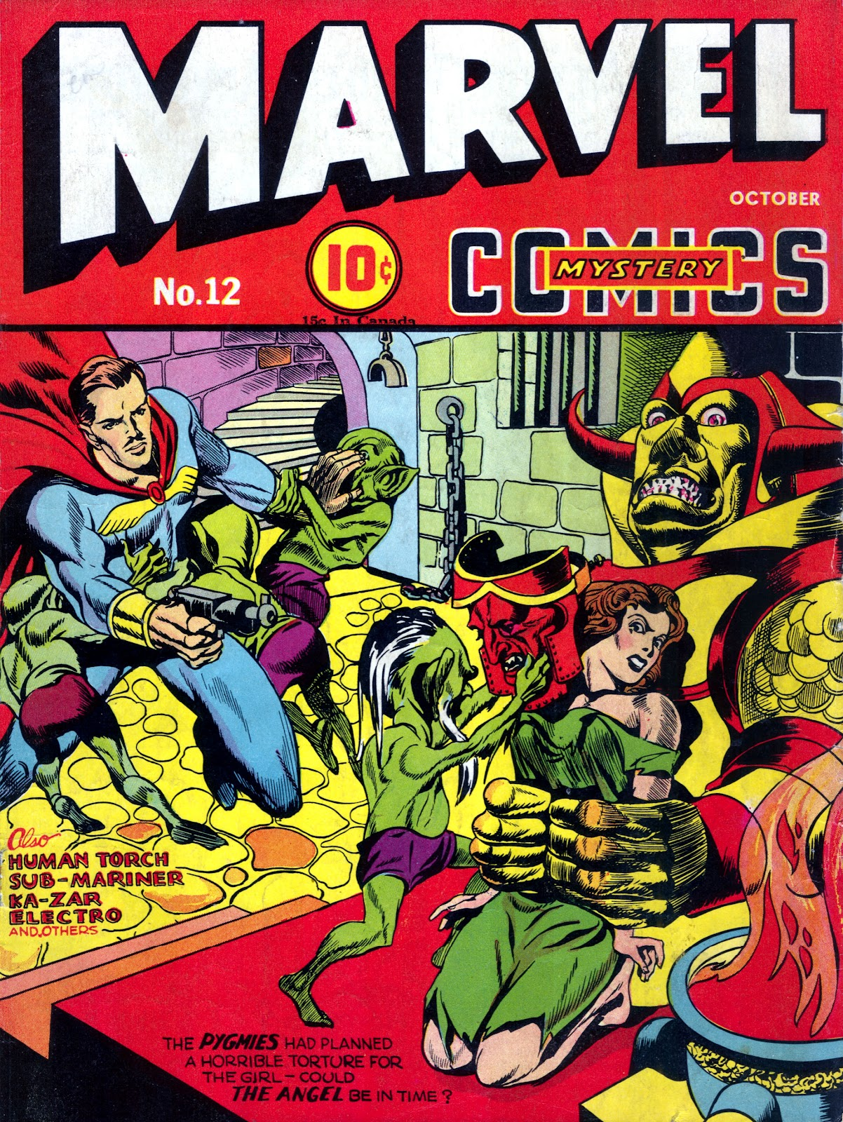 Marvel Mystery Comics 12 Page 1