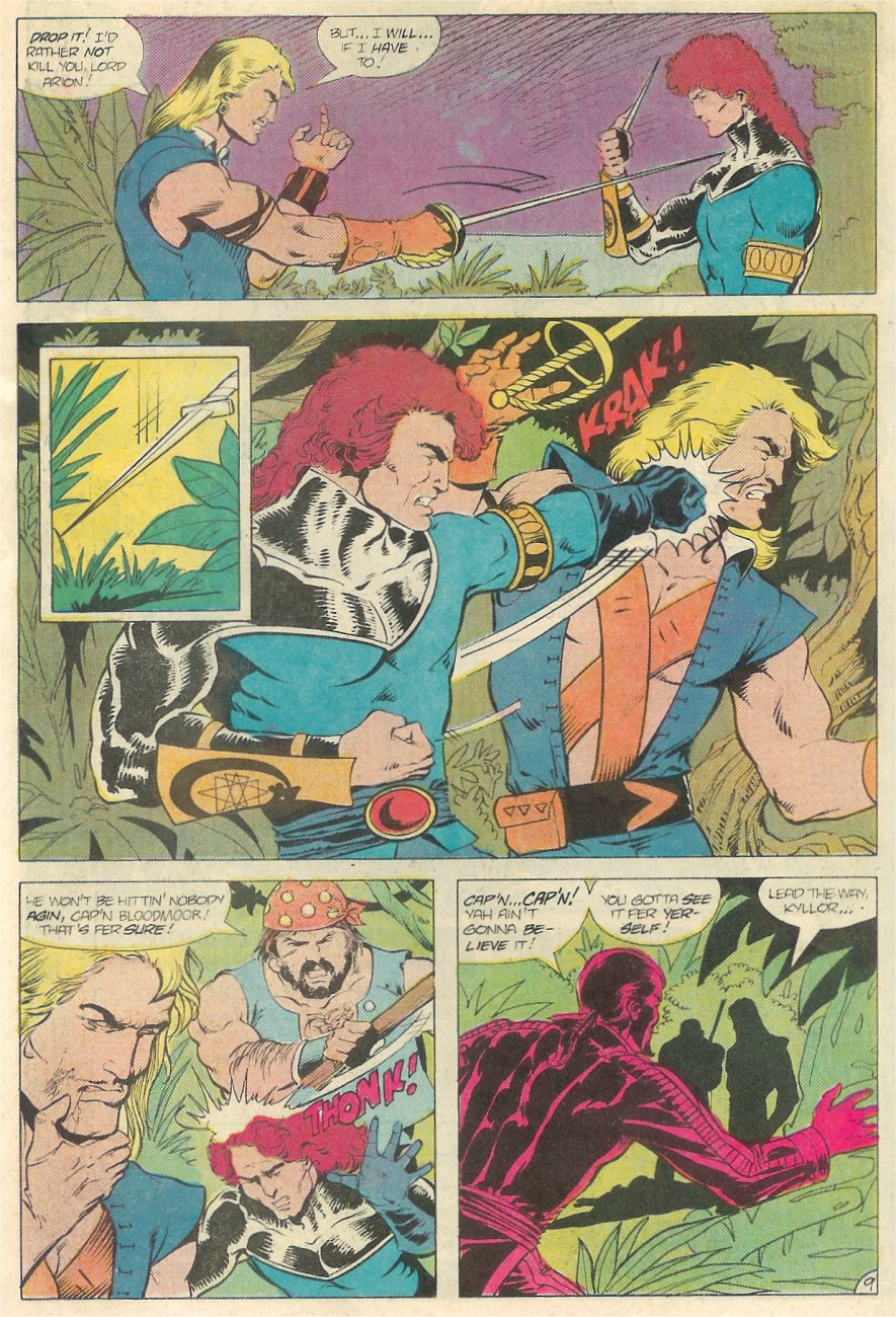 Read online Arion, Lord of Atlantis comic -  Issue #20 - 10