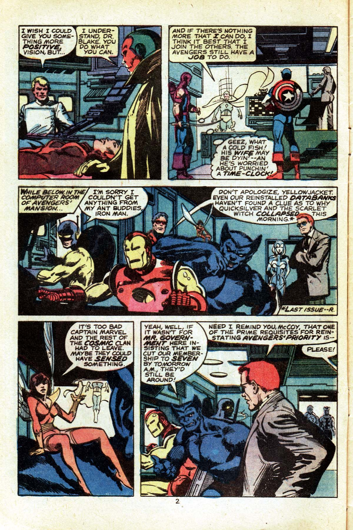 The Avengers (1963) 182 Page 2