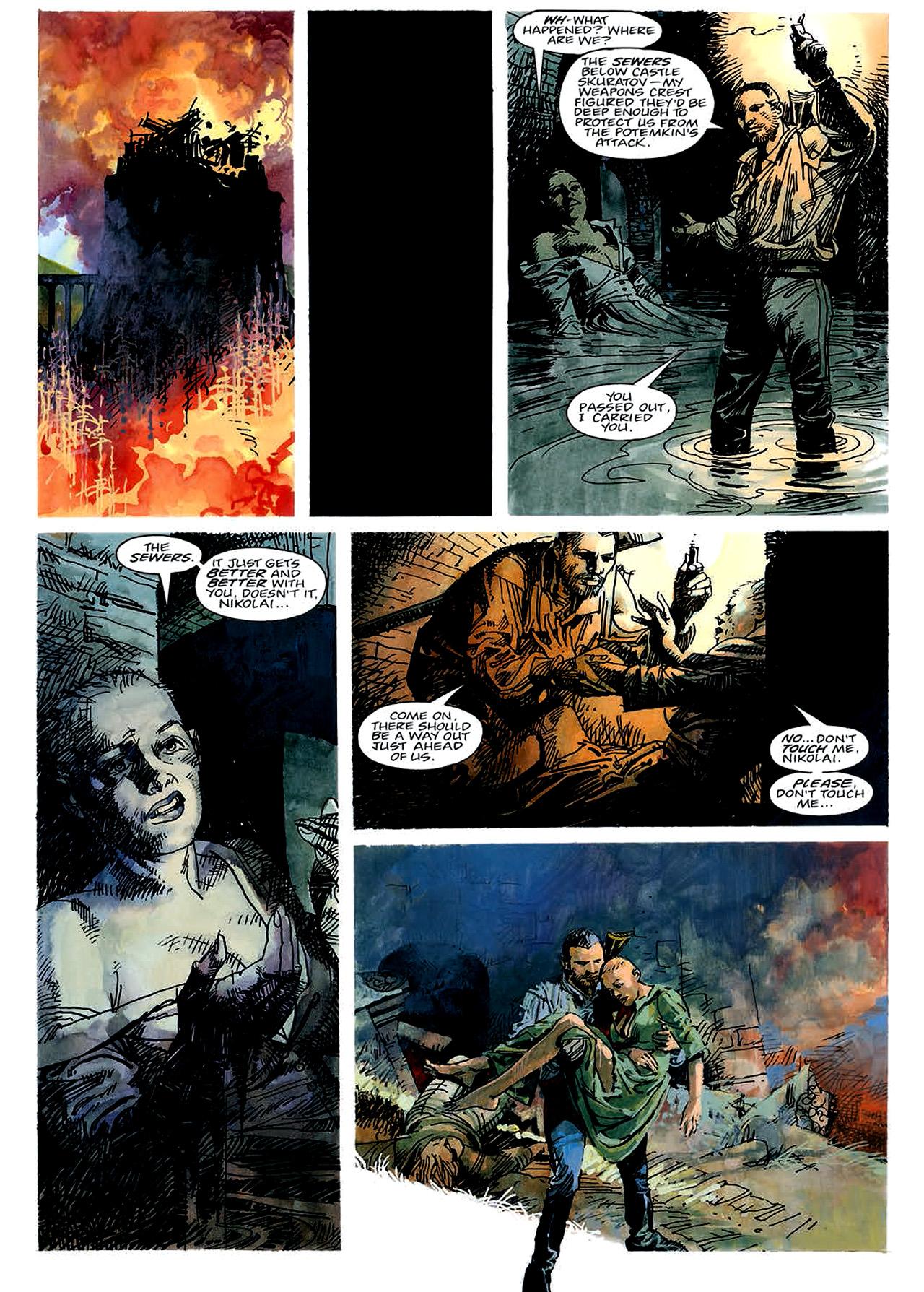 Read online Nikolai Dante comic -  Issue # TPB 4 - 48