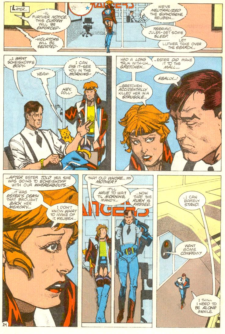 Read online American Flagg! comic -  Issue #12 - 25