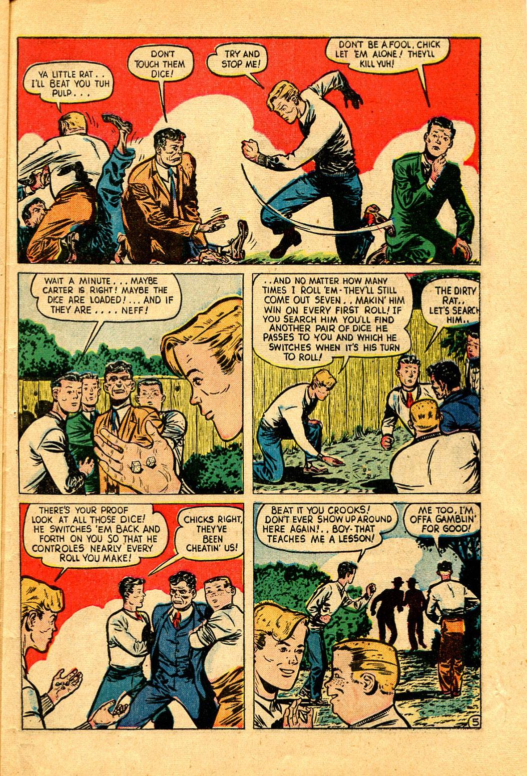 Read online Shadow Comics comic -  Issue #97 - 41