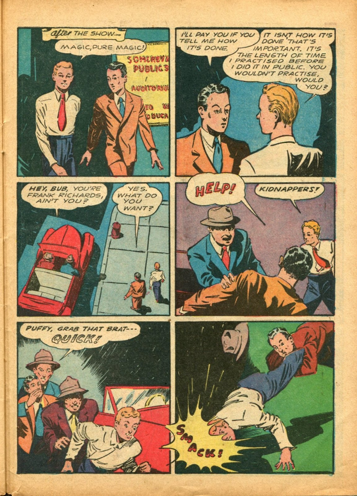 Read online Super-Magician Comics comic -  Issue #5 - 52