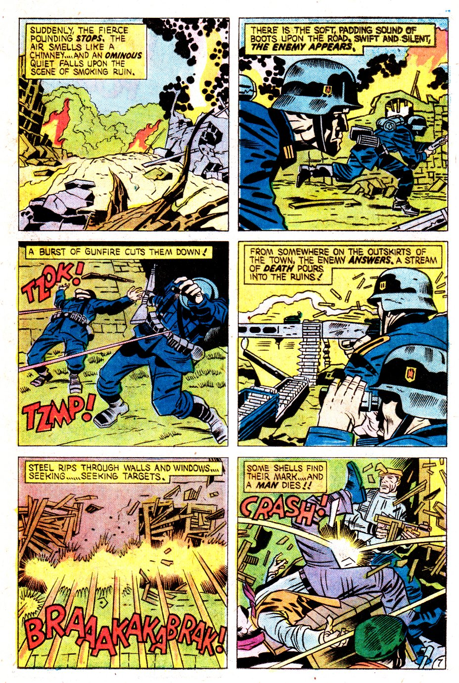 Our Fighting Forces (1954) issue 162 - Page 11