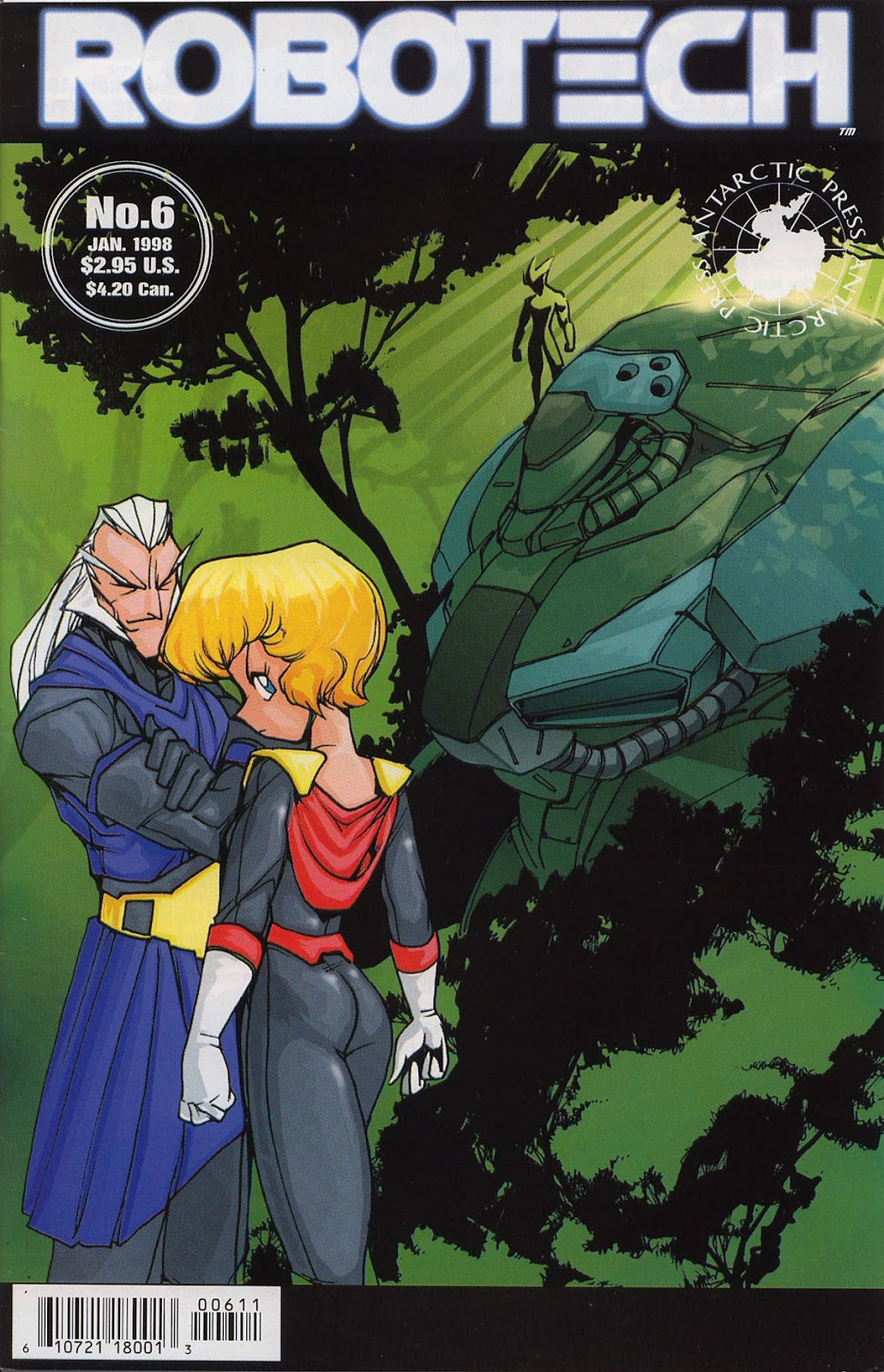 Robotech (1997) issue 6 - Page 1