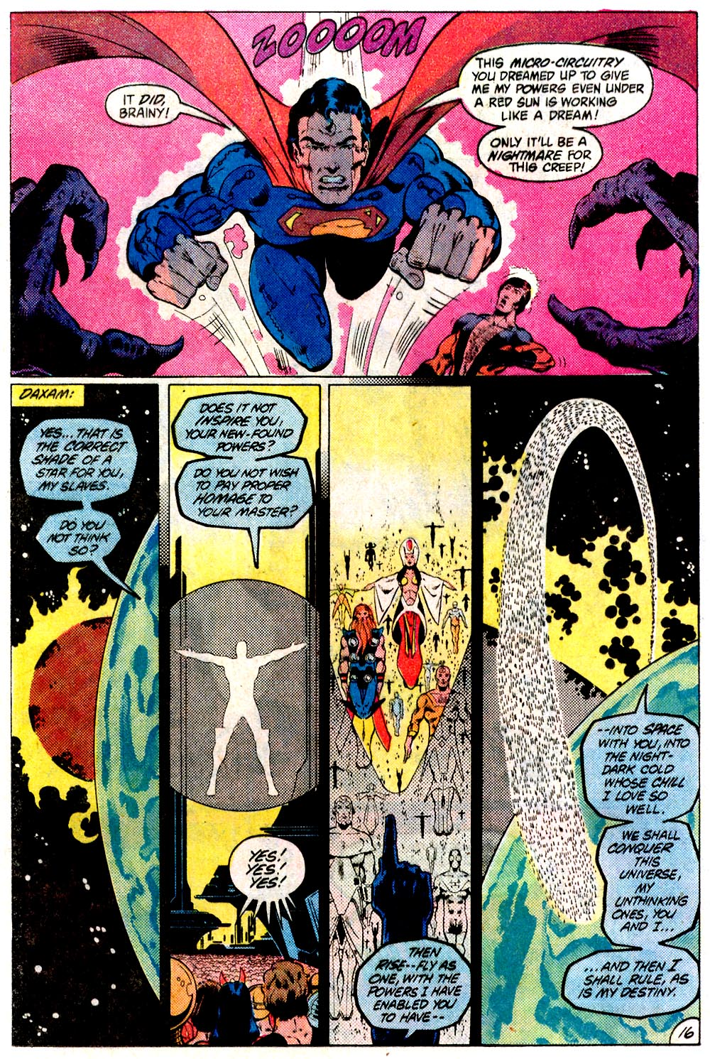 Legion of Super-Heroes (1980) 293 Page 16