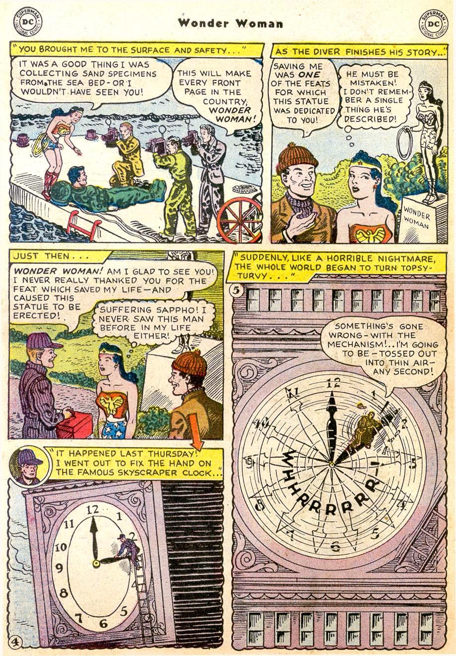 Read online Wonder Woman (1942) comic -  Issue #91 - 30