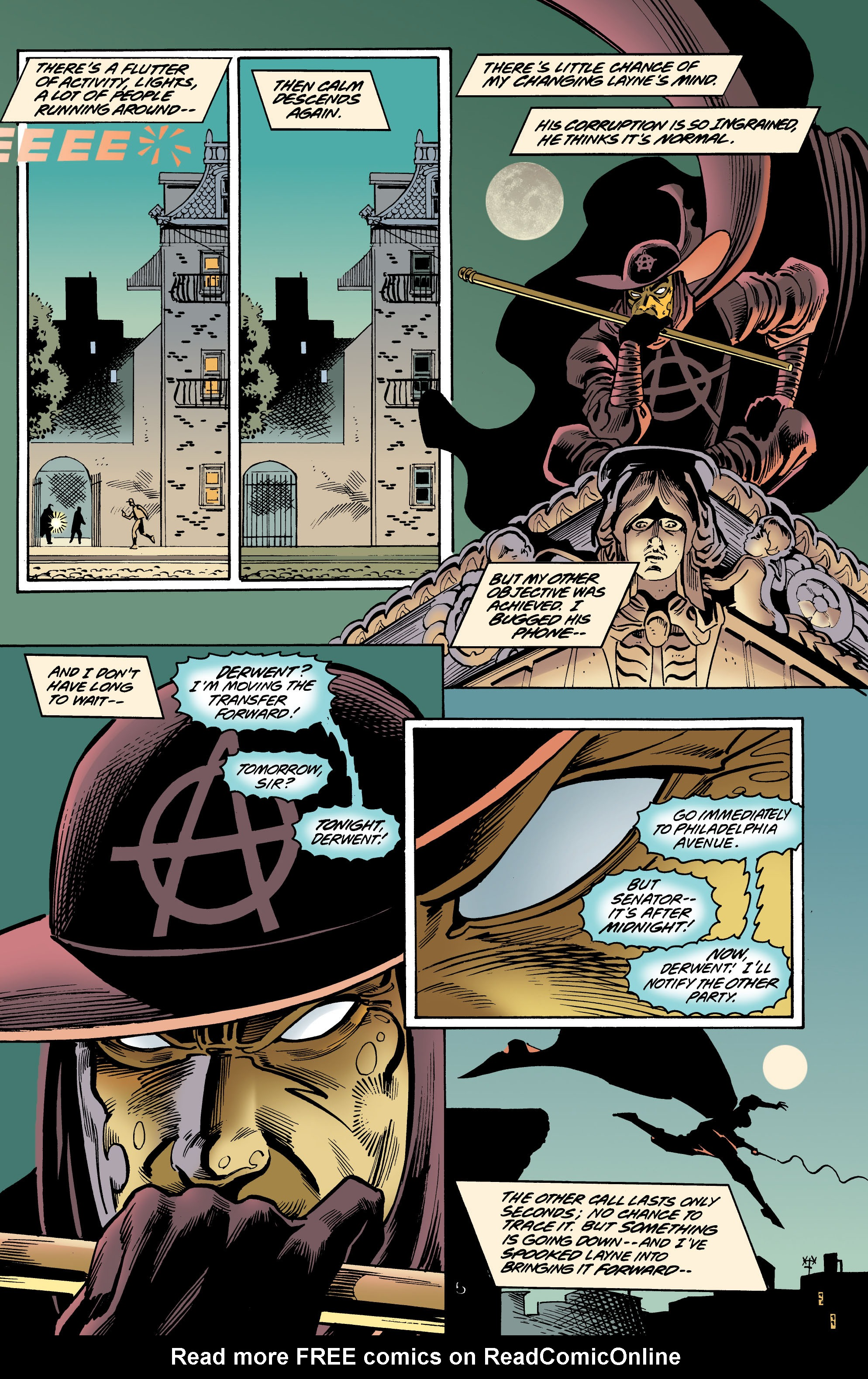 Read online Anarky (1999) comic -  Issue #4 - 6