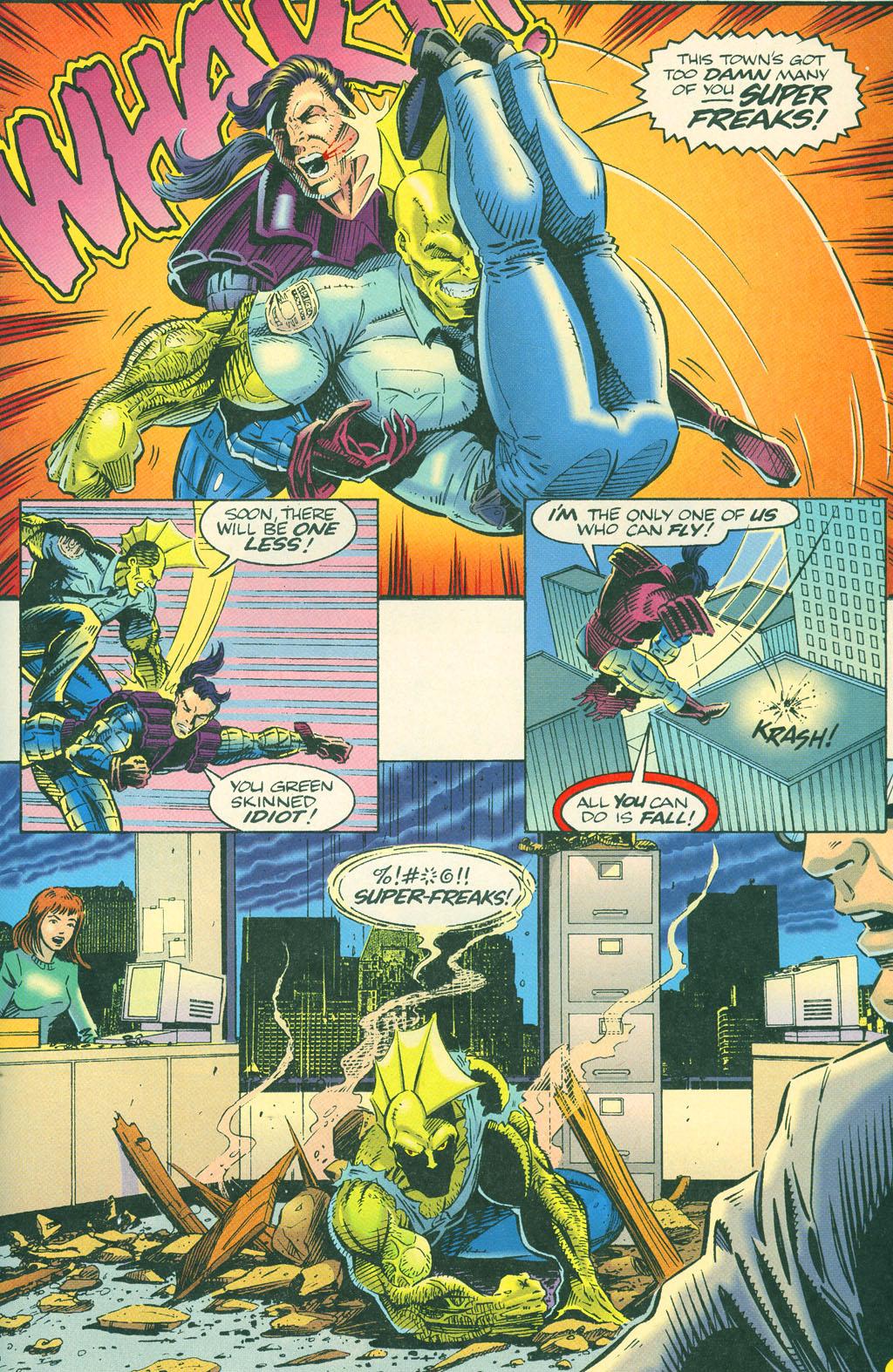 Read online ShadowHawk comic -  Issue #4 - 23