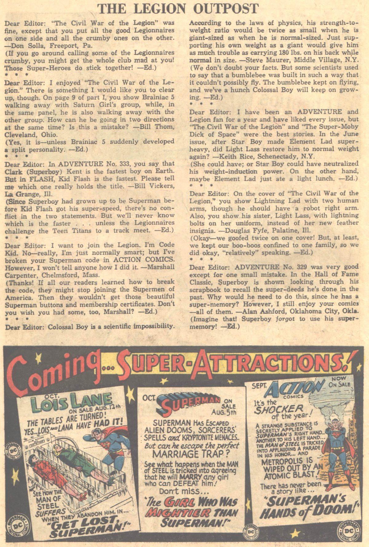 Read online Adventure Comics (1938) comic -  Issue #336 - 23