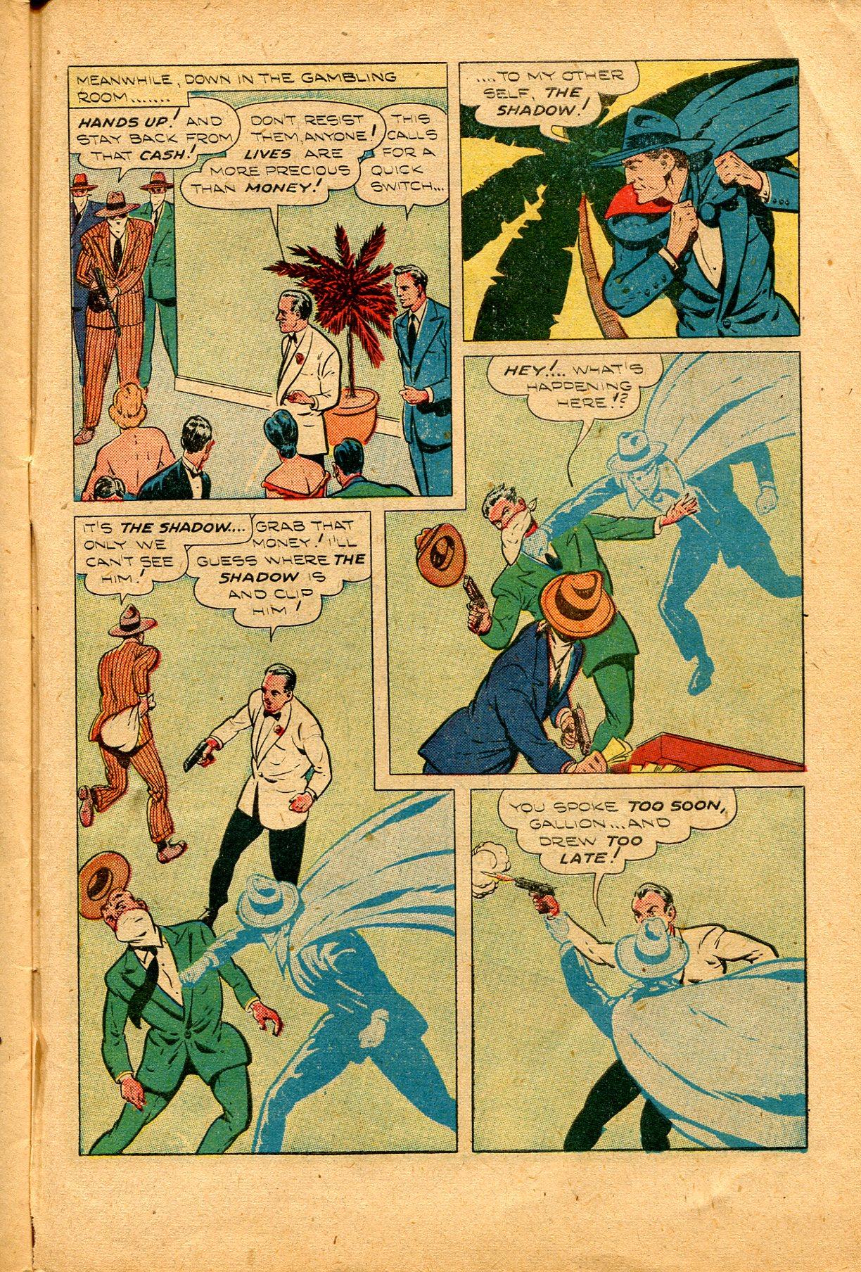 Read online Shadow Comics comic -  Issue #94 - 41