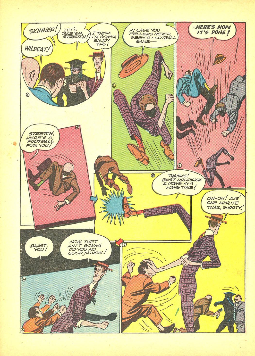 Read online Sensation (Mystery) Comics comic -  Issue #4 - 64