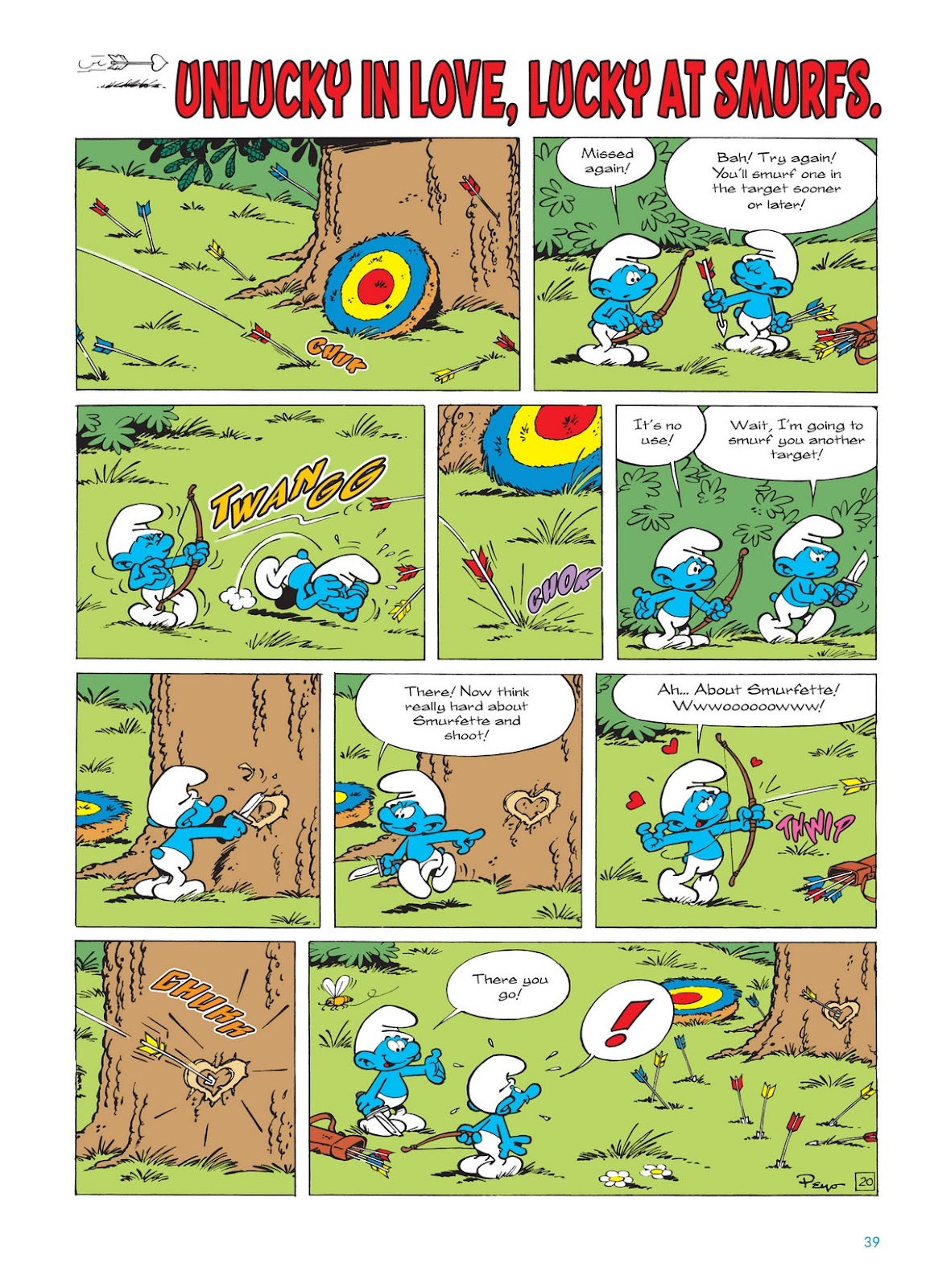 Read online The Smurfs comic -  Issue #11 - 39