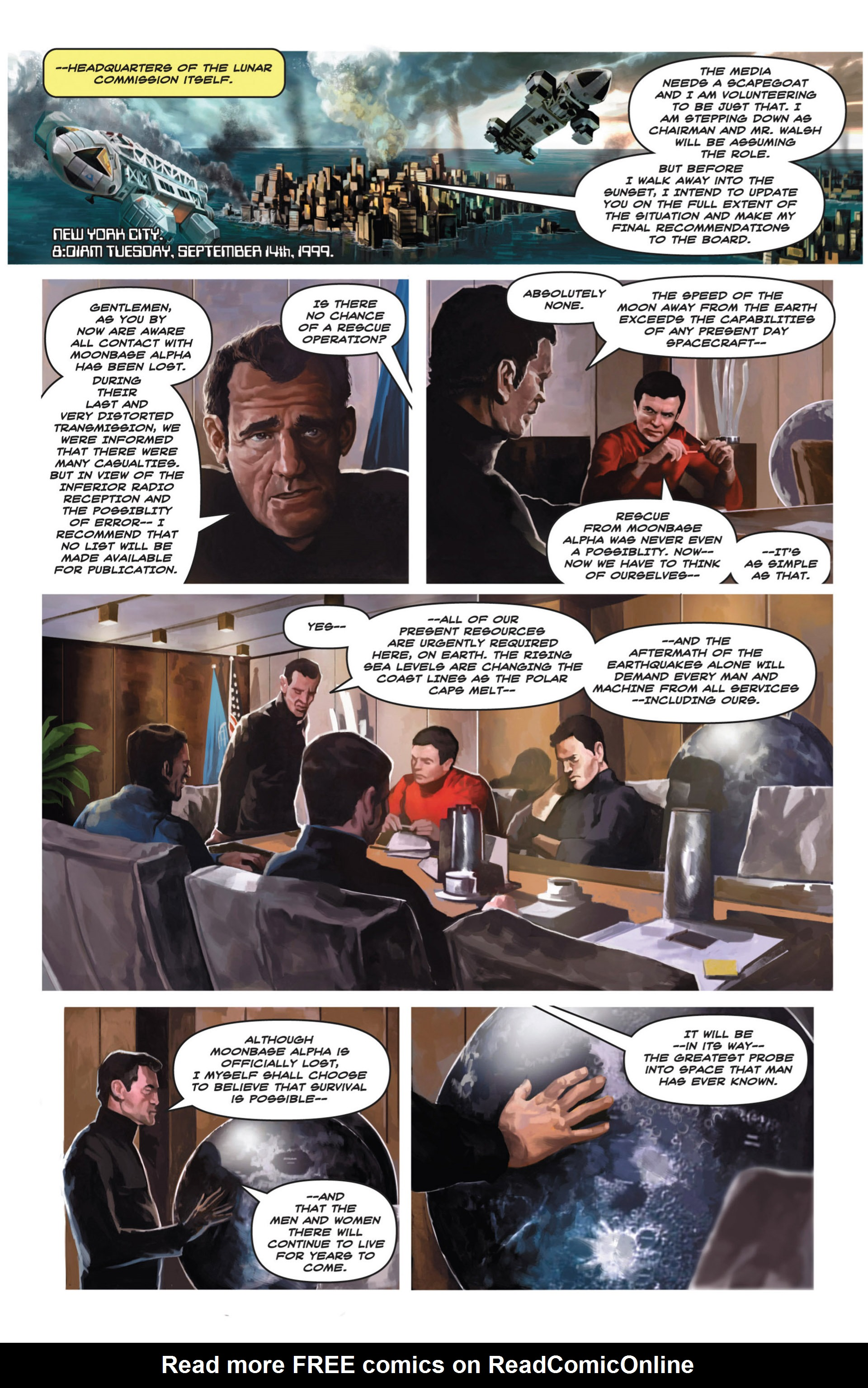 Read online Space: 1999: Aftershock comic -  Issue #3 - 24