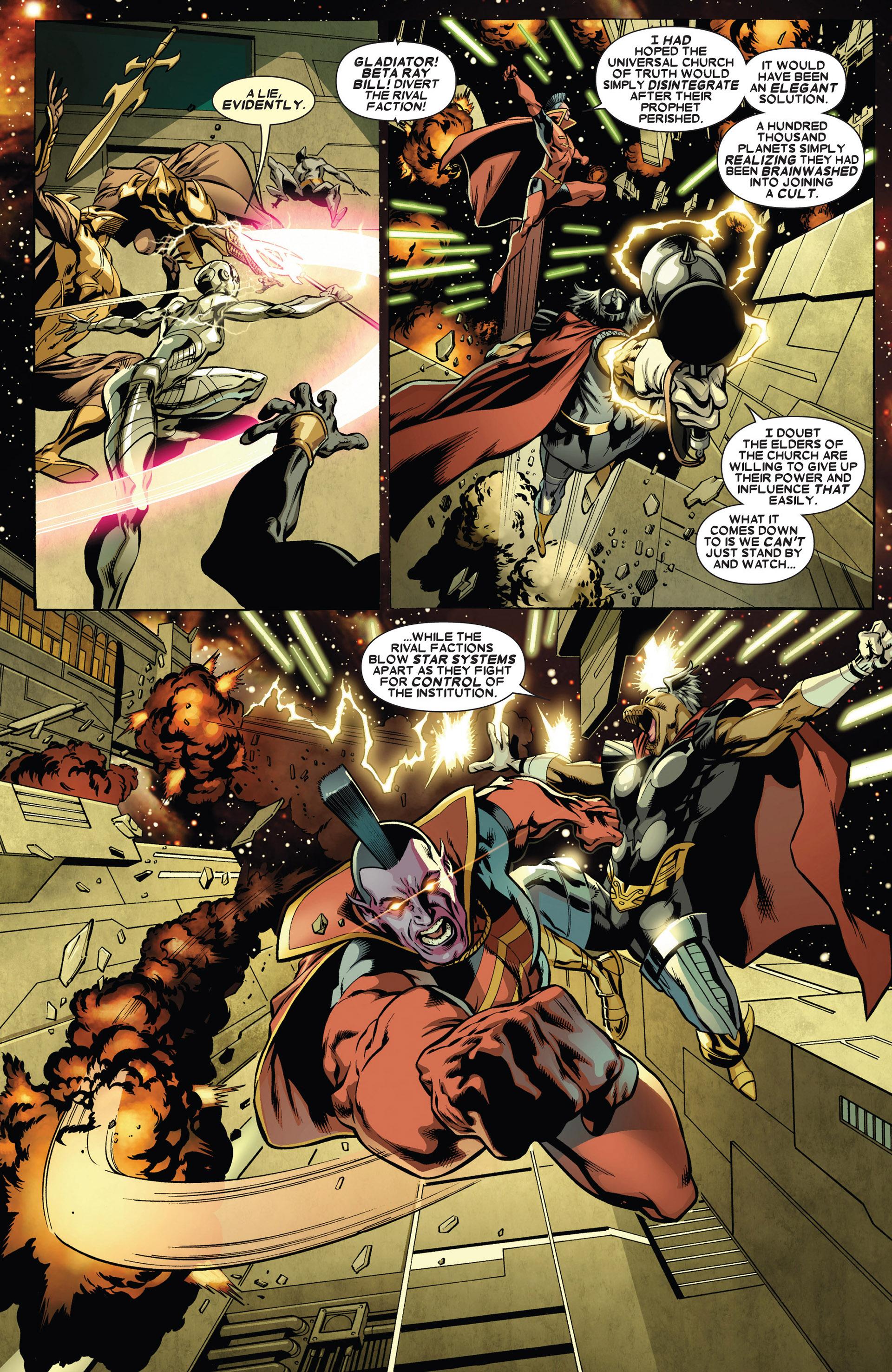 Read online Annihilators: Earthfall comic -  Issue #1 - 6