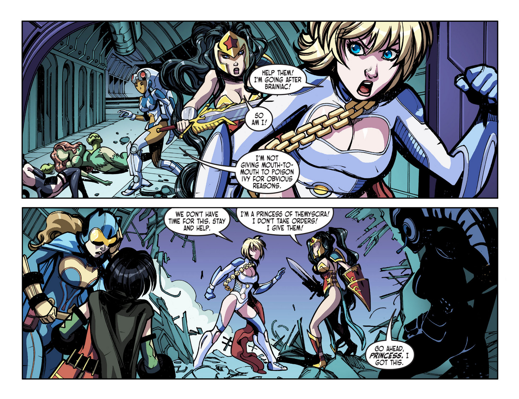Read online Ame-Comi Girls comic -  Issue #5 - 5