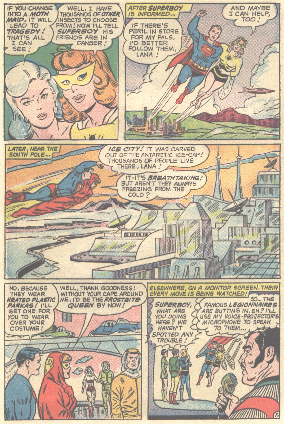 Read online Adventure Comics (1938) comic -  Issue #355 - 24