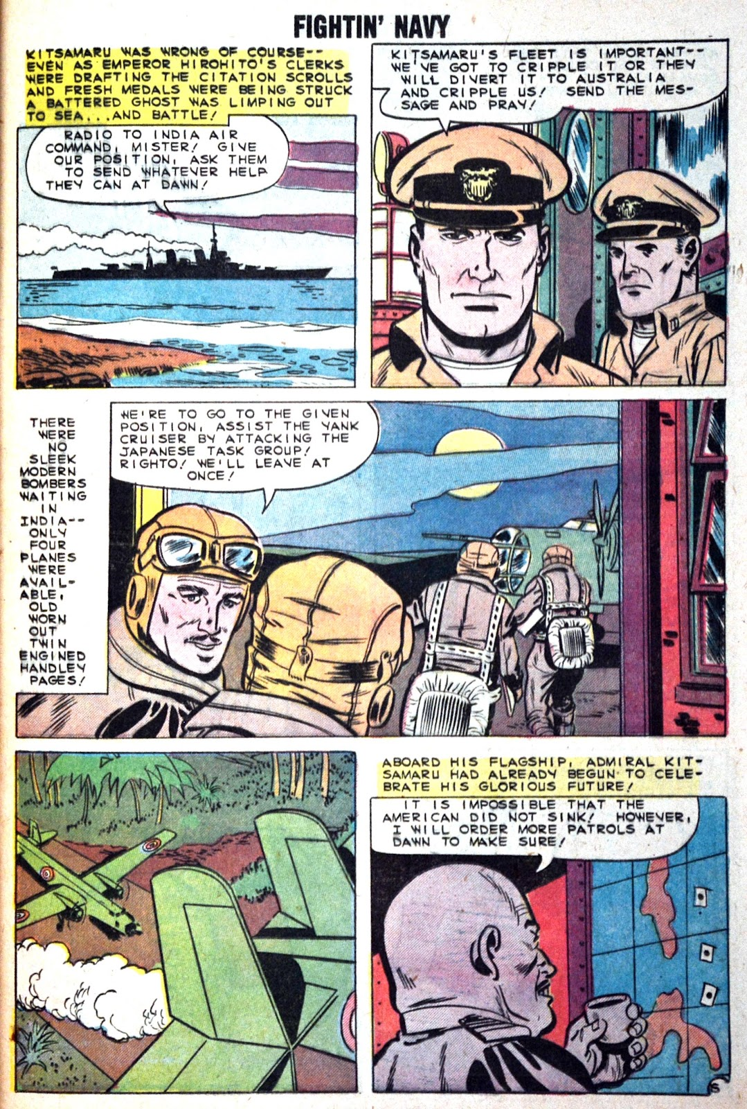 Read online Fightin' Navy comic -  Issue #89 - 25