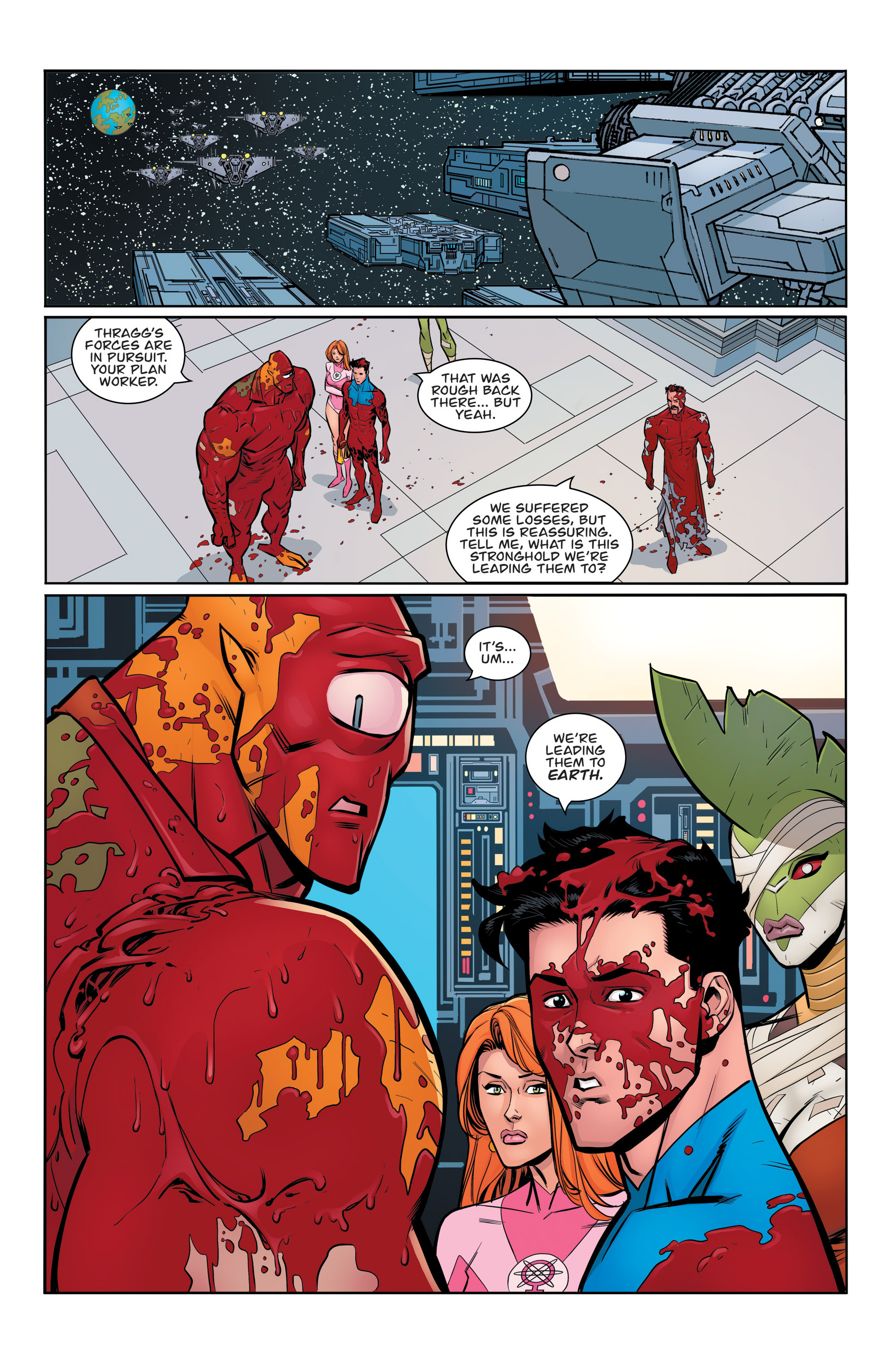 Read online Invincible comic -  Issue #136 - 20