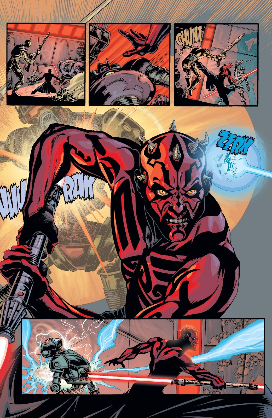 Read online Star Wars Legends: Rise of the Sith - Epic Collection comic -  Issue # TPB 2 (Part 2) - 45