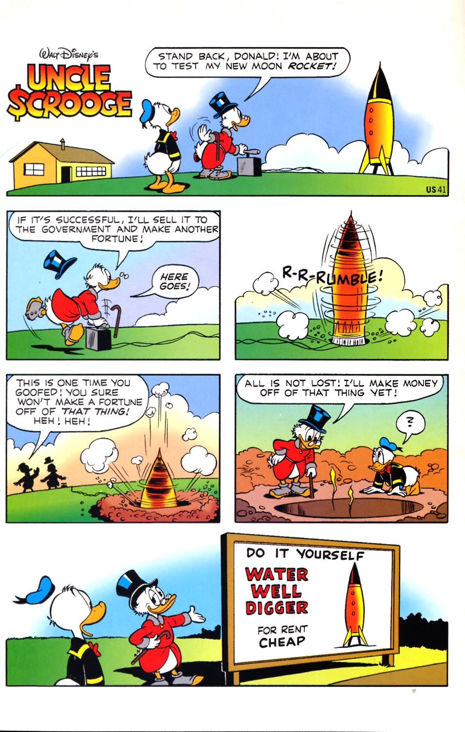 Read online Uncle Scrooge (1953) comic -  Issue #291 - 2