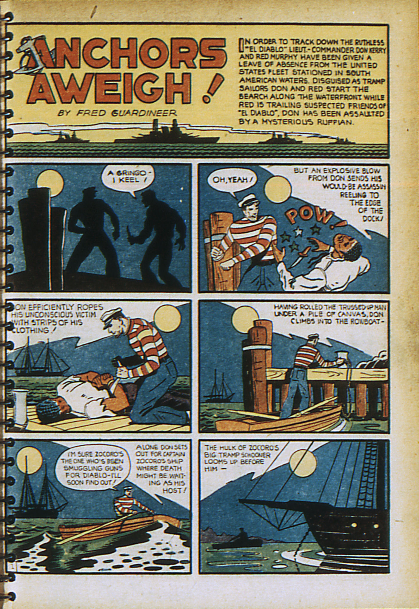 Read online Adventure Comics (1938) comic -  Issue #30 - 4