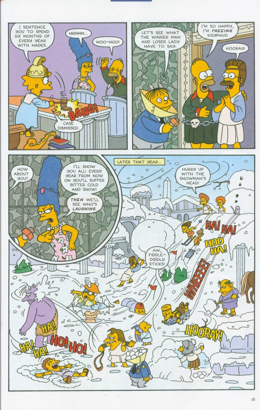 Read online Simpsons Comics comic -  Issue #70 - 16