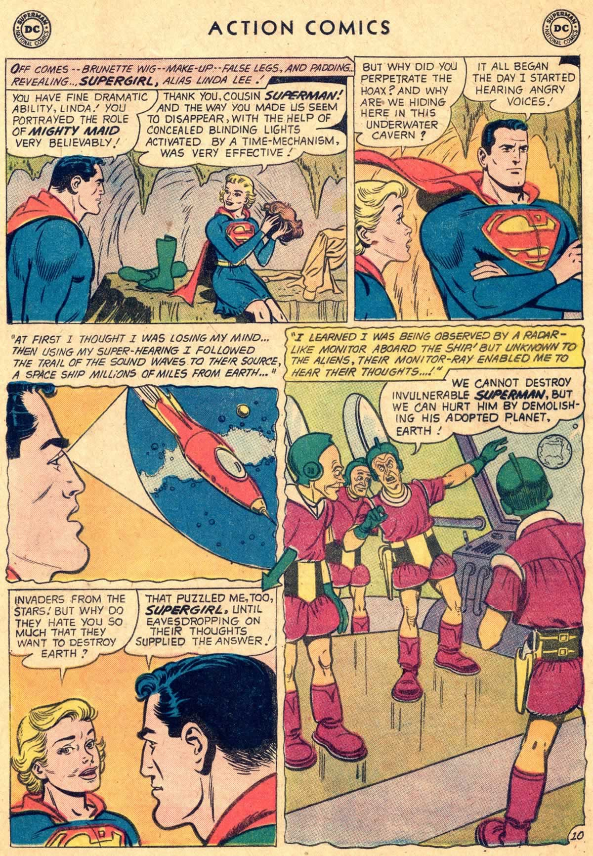 Action Comics (1938) 260 Page 10