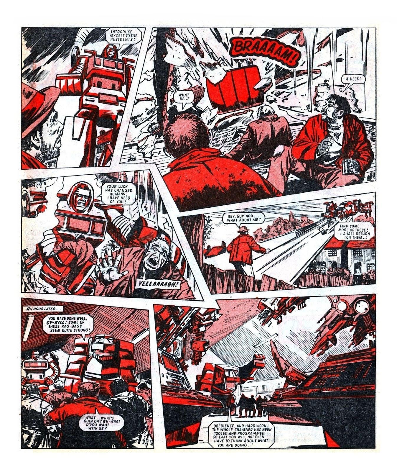 Read online Robo Machines comic -  Issue # TPB - 83