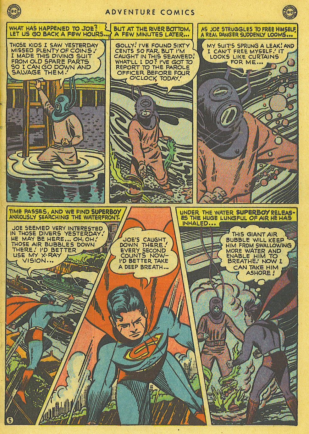 Read online Adventure Comics (1938) comic -  Issue #136 - 7