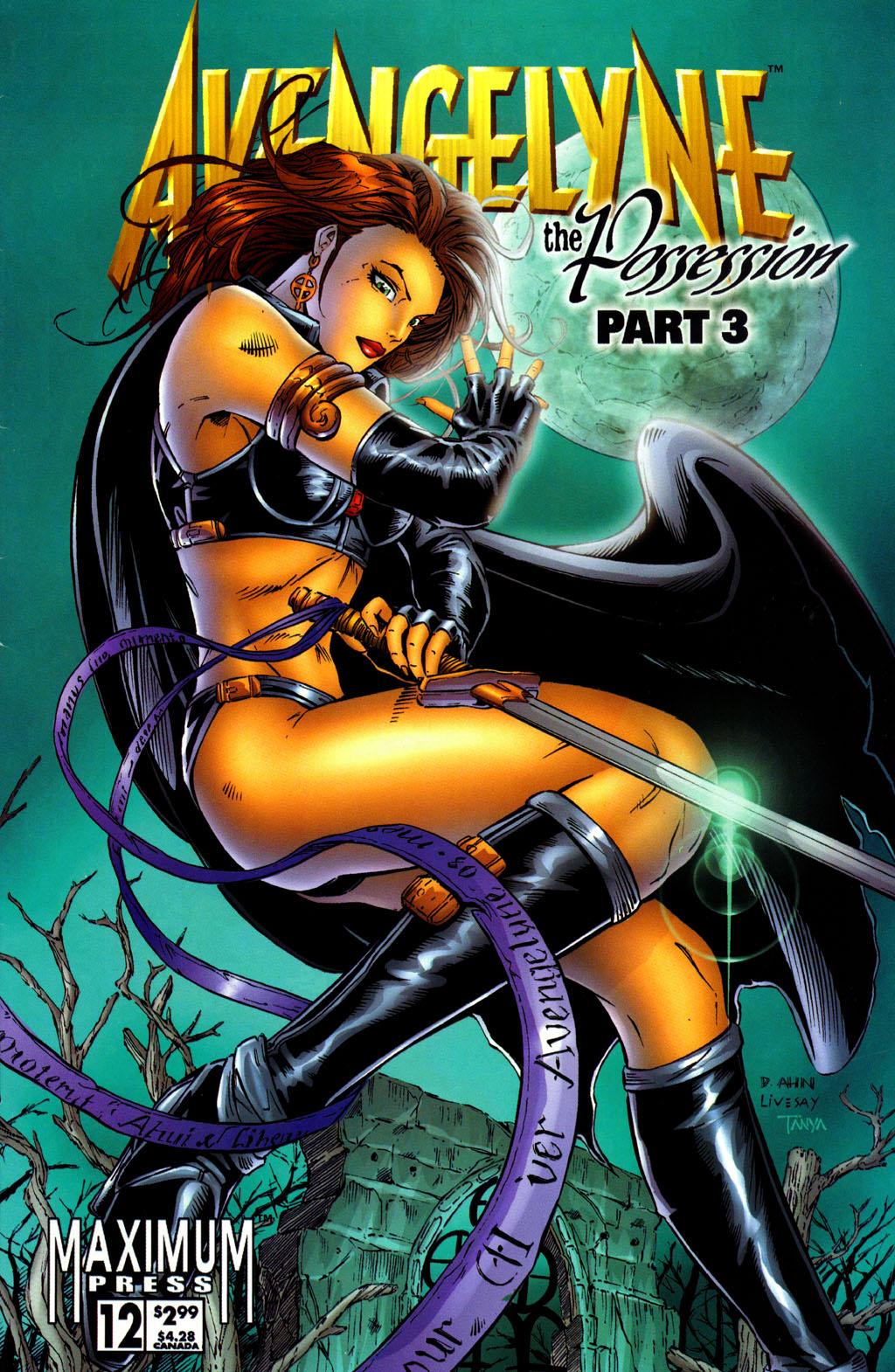 Read online Avengelyne (1996) comic -  Issue #12 - 1
