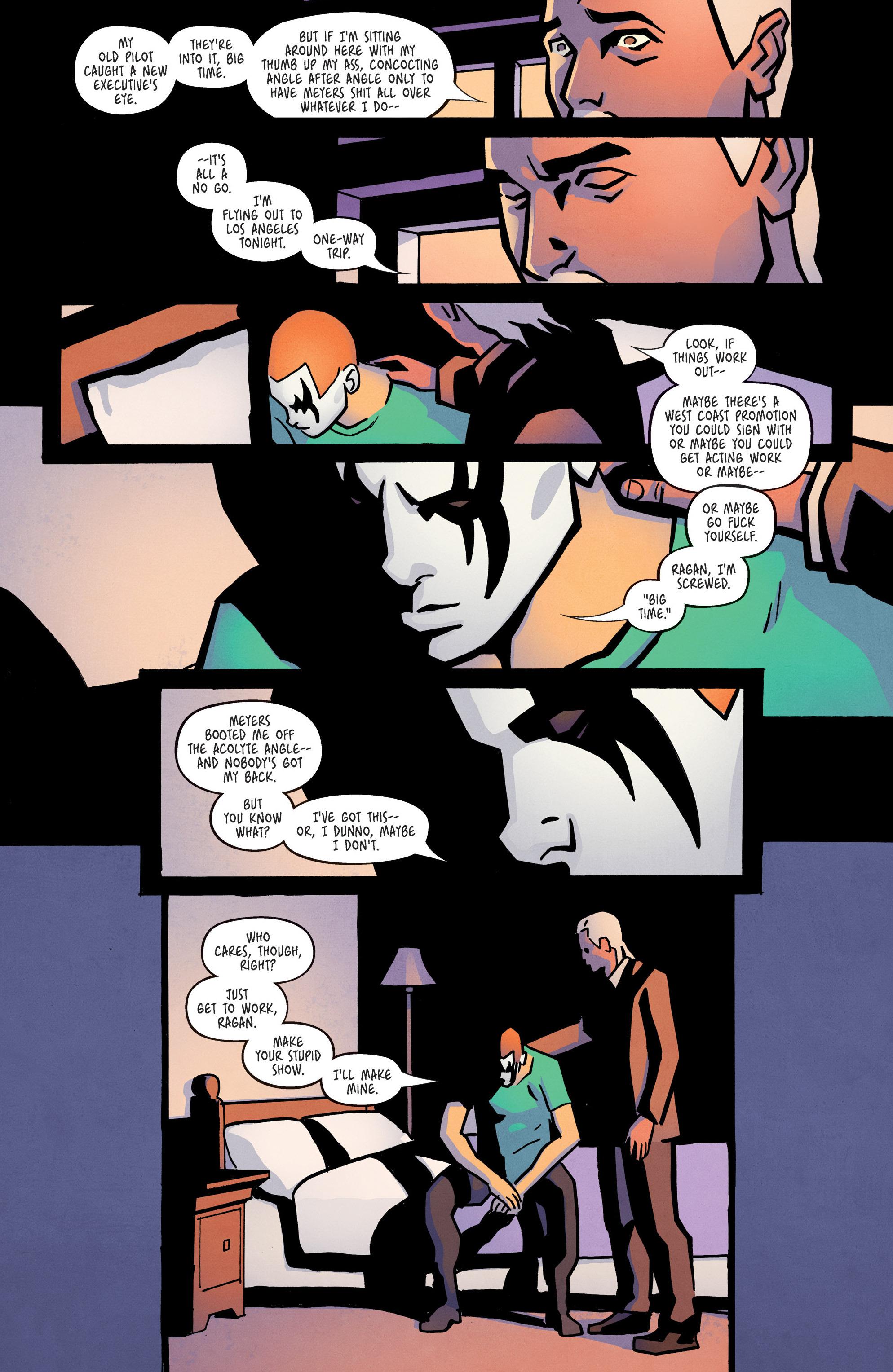 Read online Ringside comic -  Issue #10 - 11