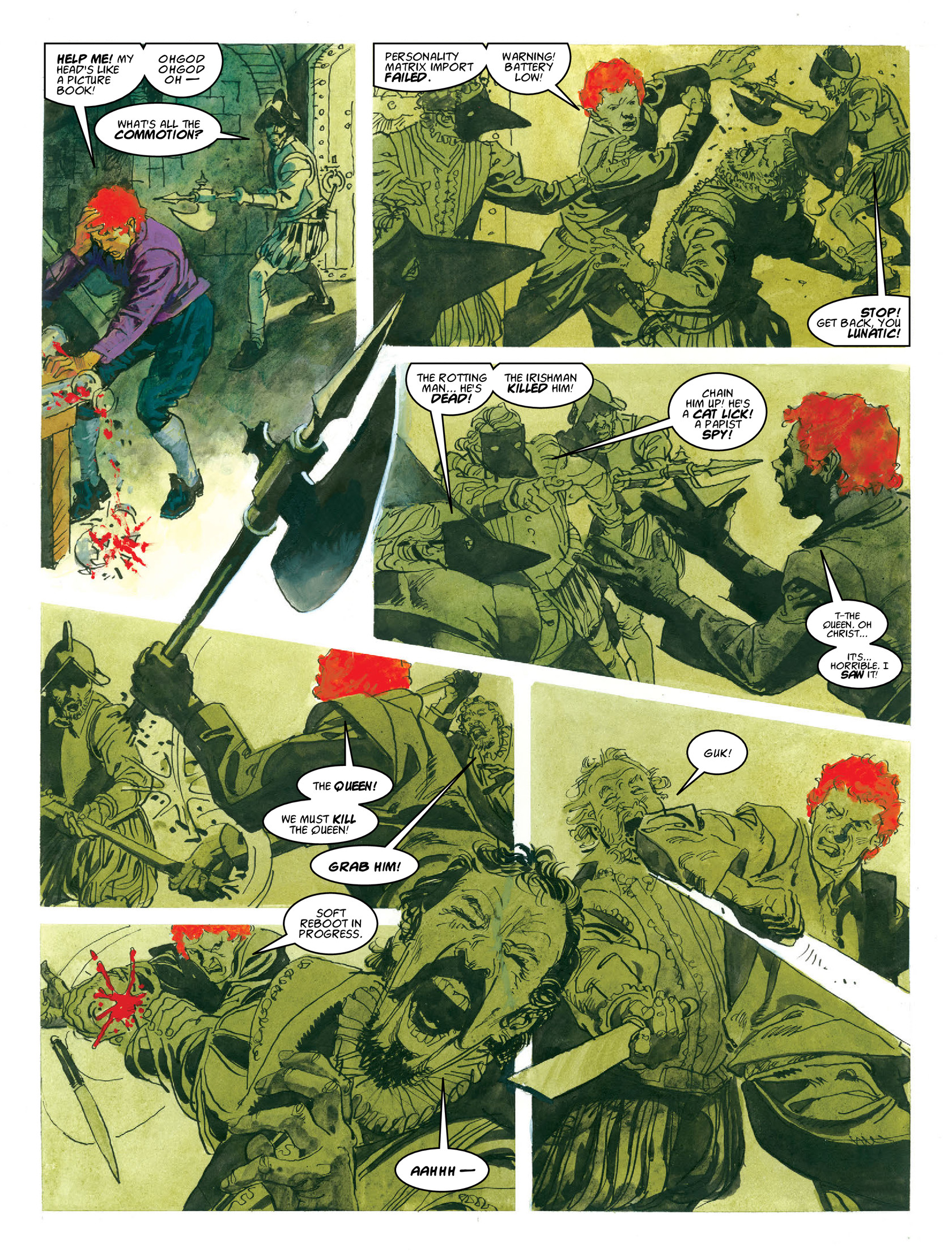 Read online 2000 AD comic -  Issue #1962 - 24