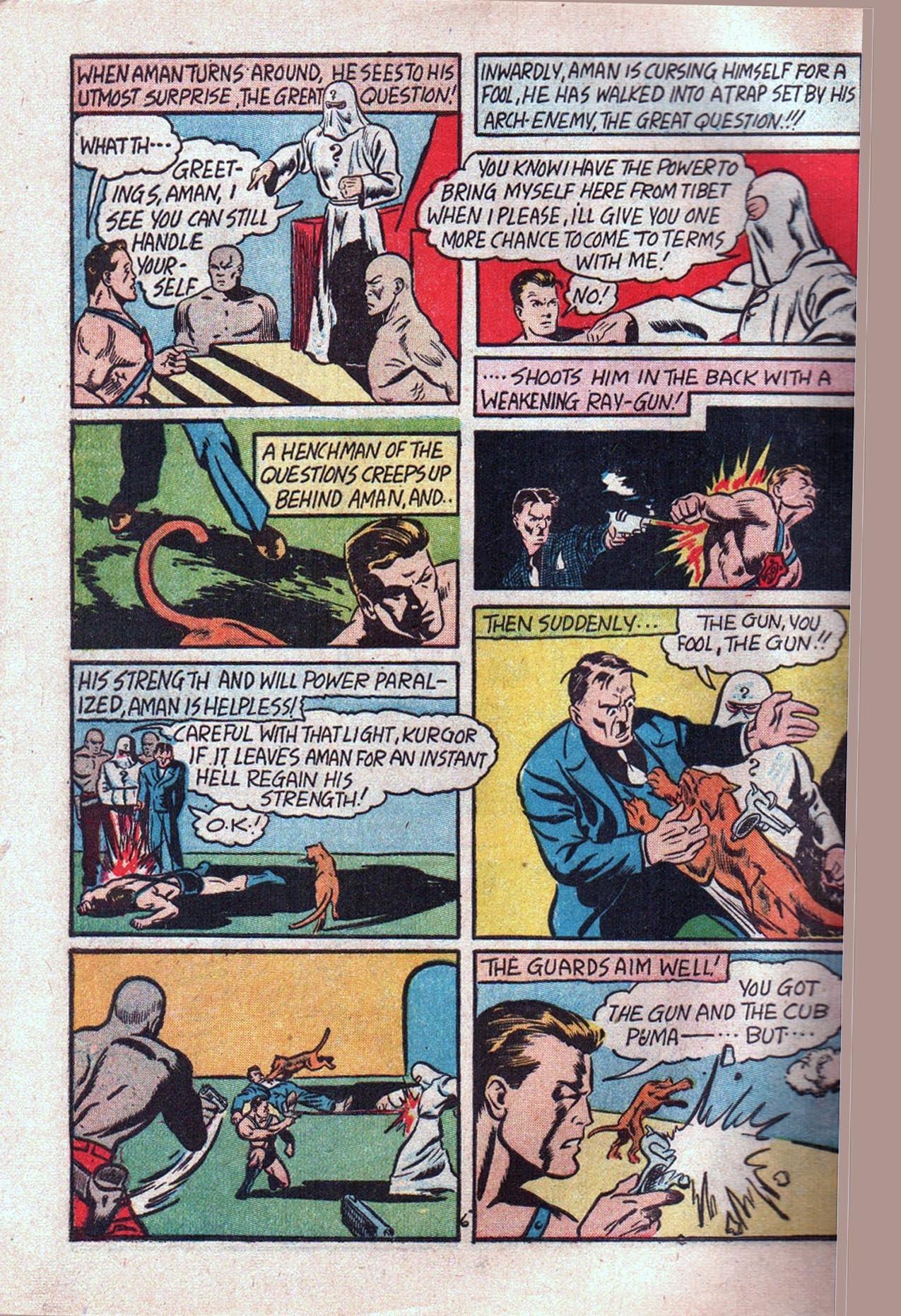 Read online Amazing Man Comics comic -  Issue #20 - 9