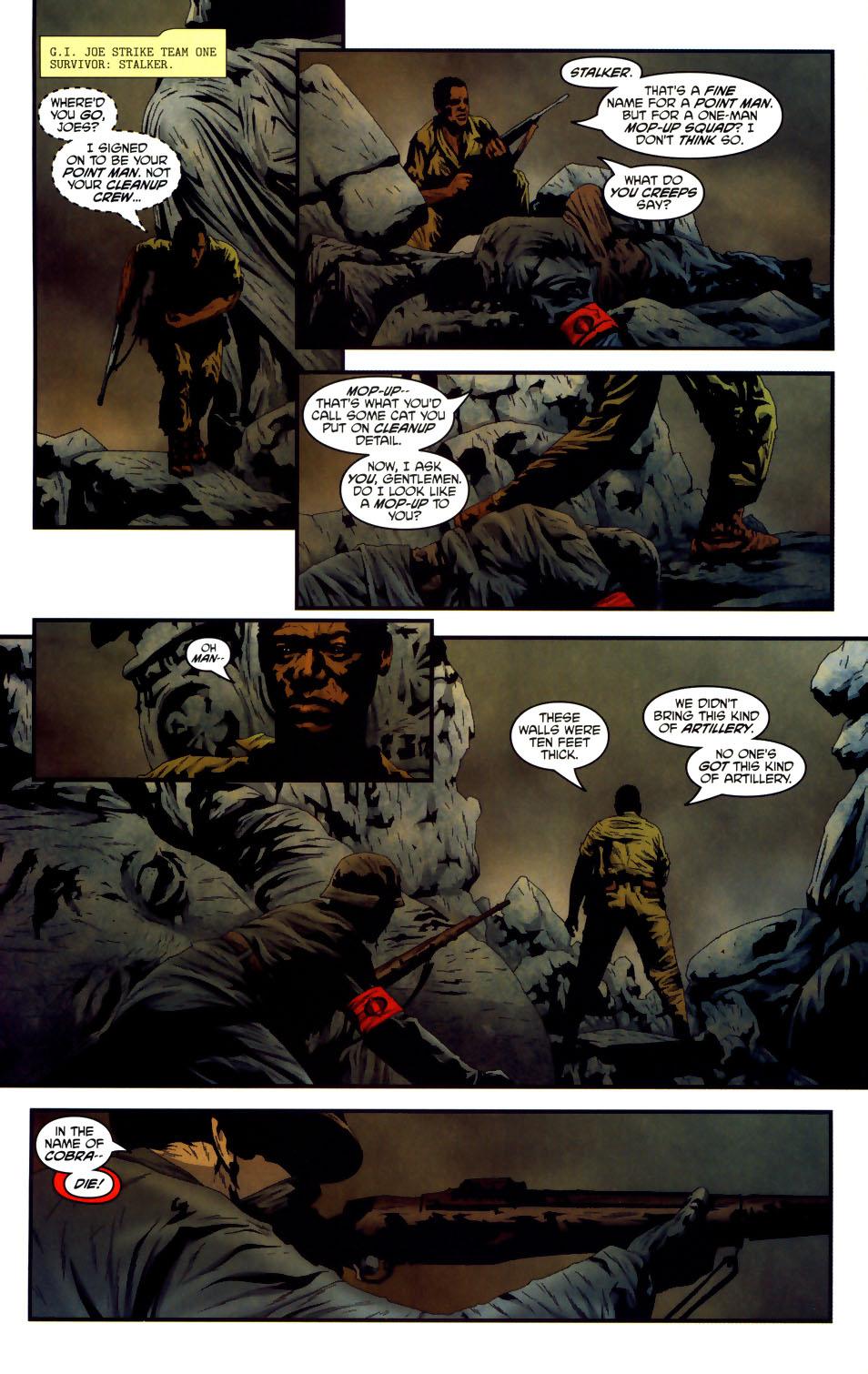 Read online Transformers/G.I. Joe comic -  Issue #3 - 5