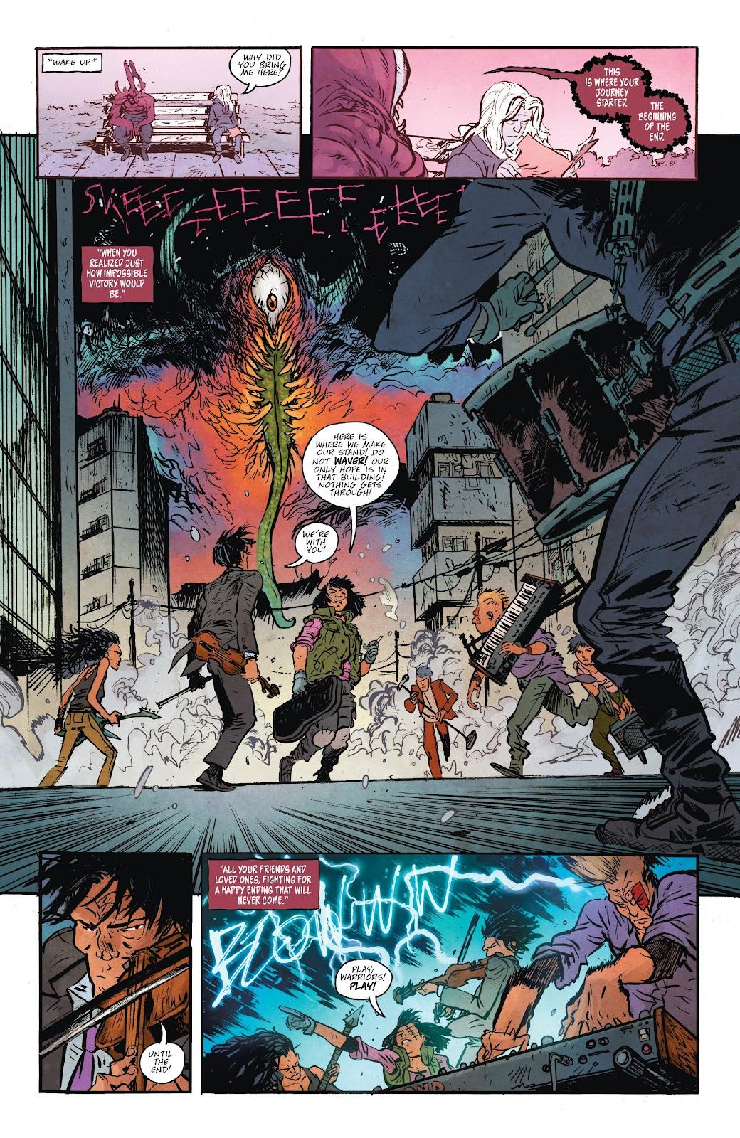 Read online Murder Falcon comic -  Issue #7 - 12