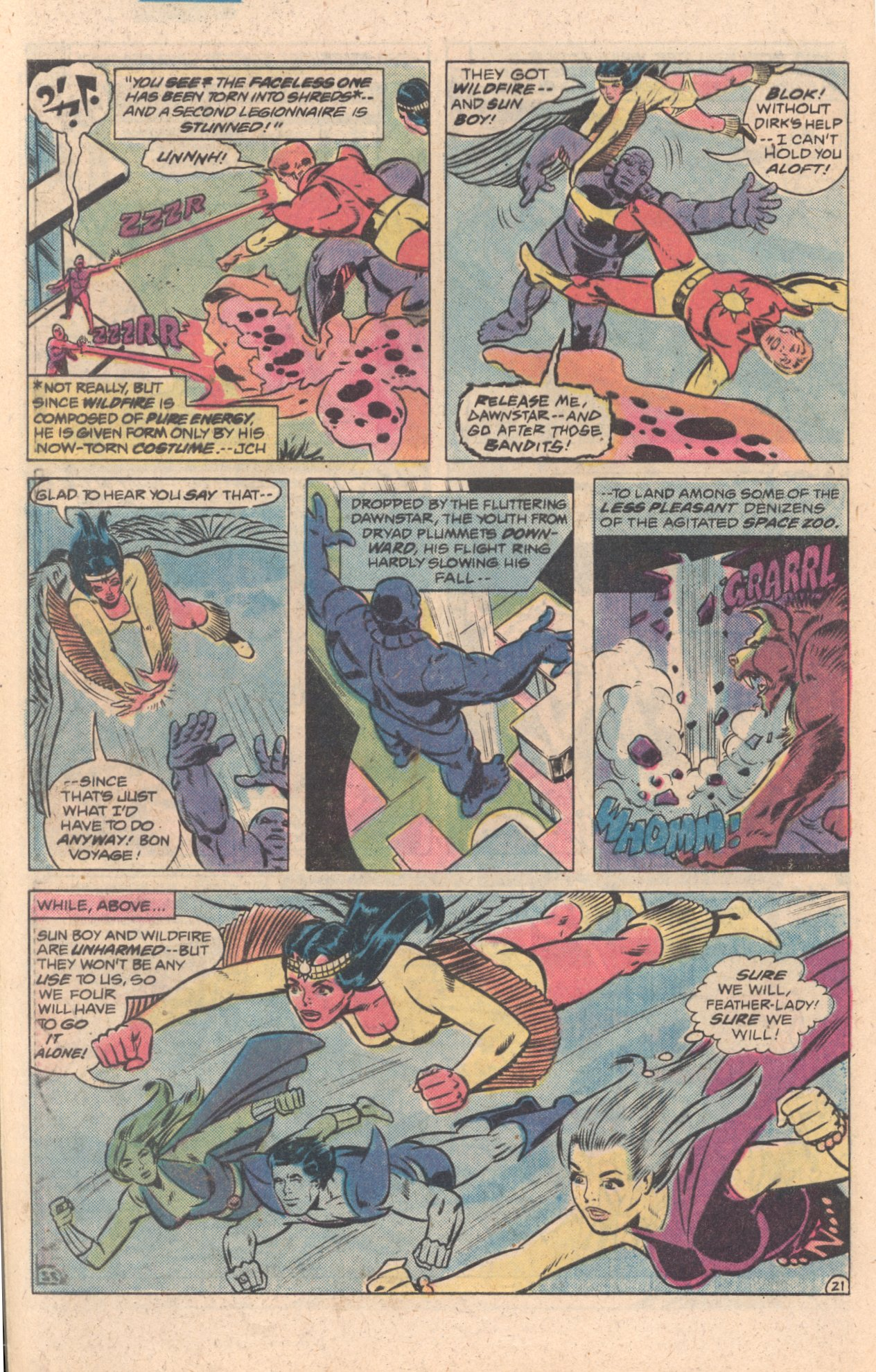 Legion of Super-Heroes (1980) 272 Page 21