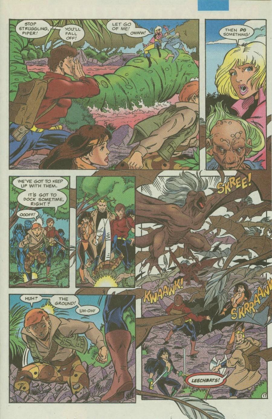 Read online Ex-Mutants comic -  Issue #4 - 20