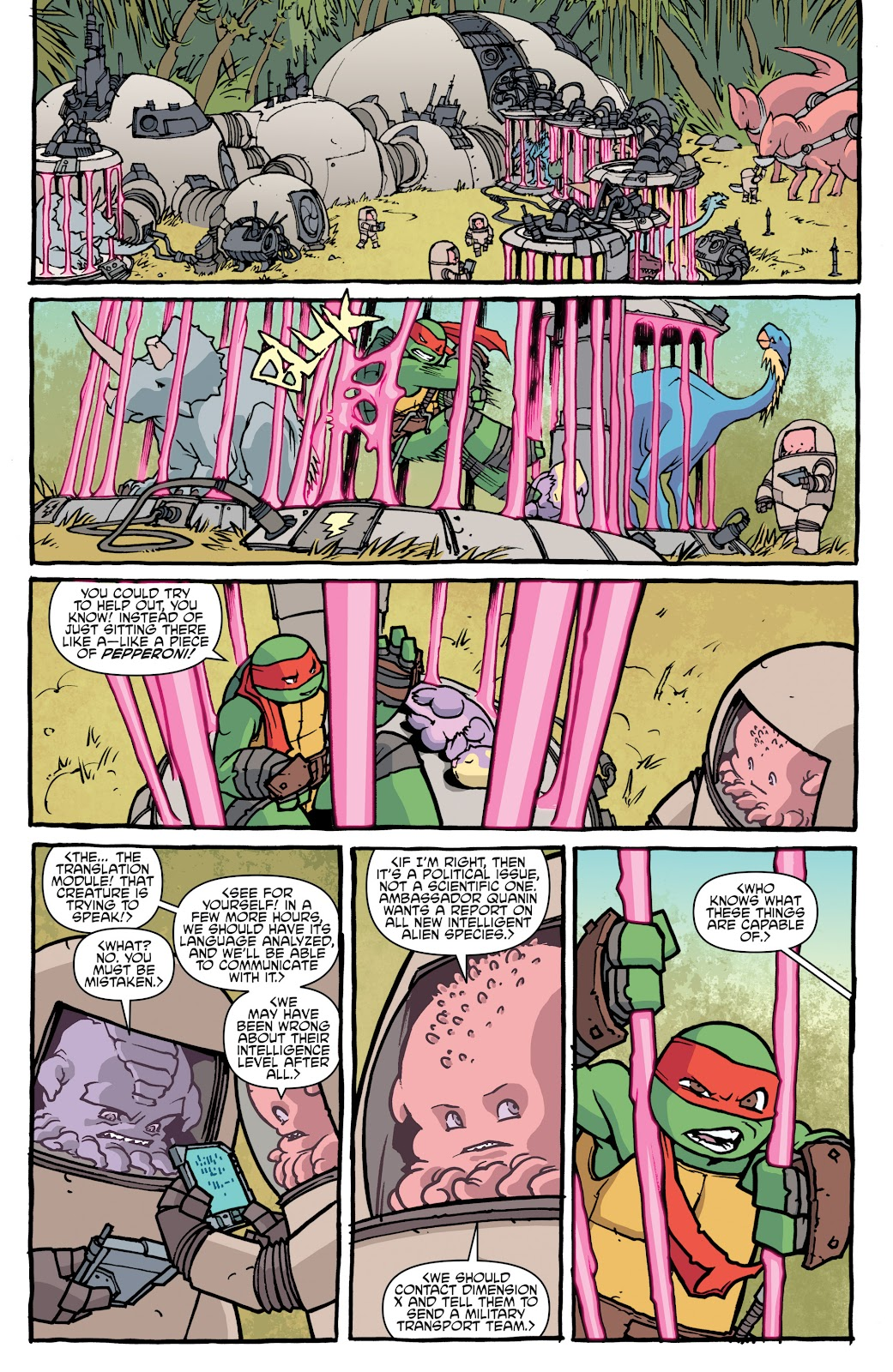 Read online Teenage Mutant Ninja Turtles: The IDW Collection comic -  Issue # TPB 5 (Part 1) - 18