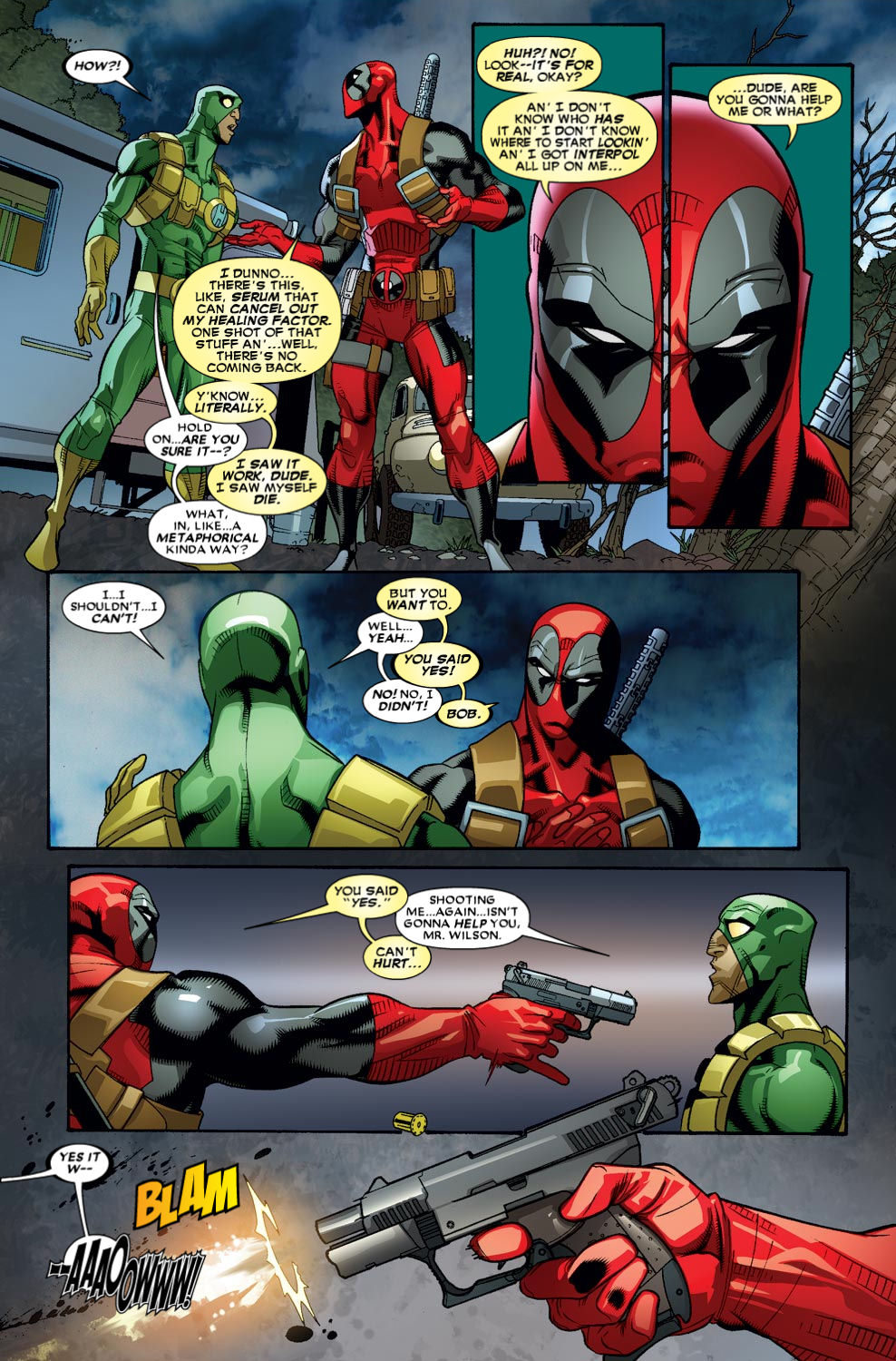 Read online Deadpool (2008) comic -  Issue #50 - 10