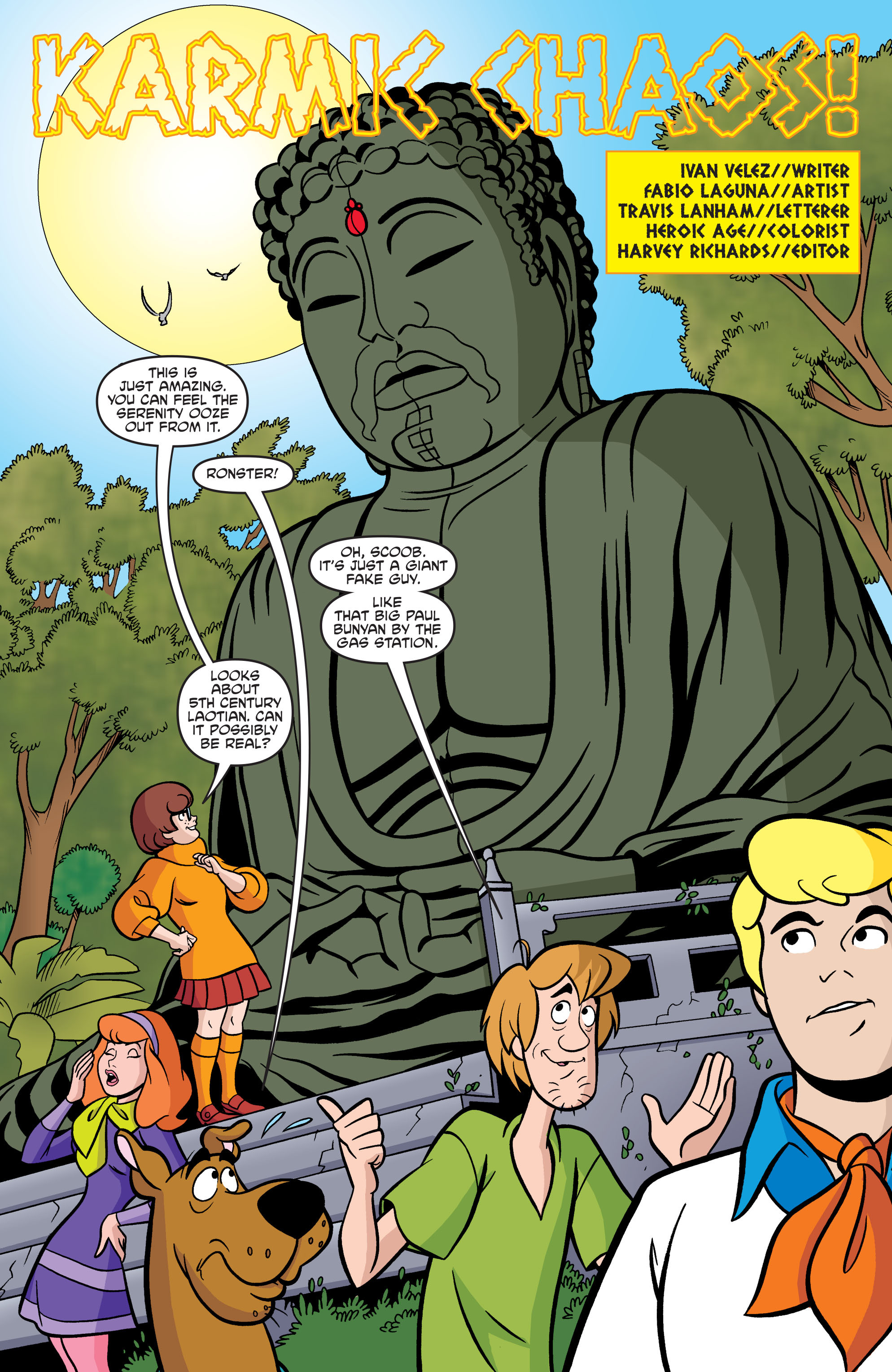 Read online Scooby-Doo: Where Are You? comic -  Issue #74 - 13