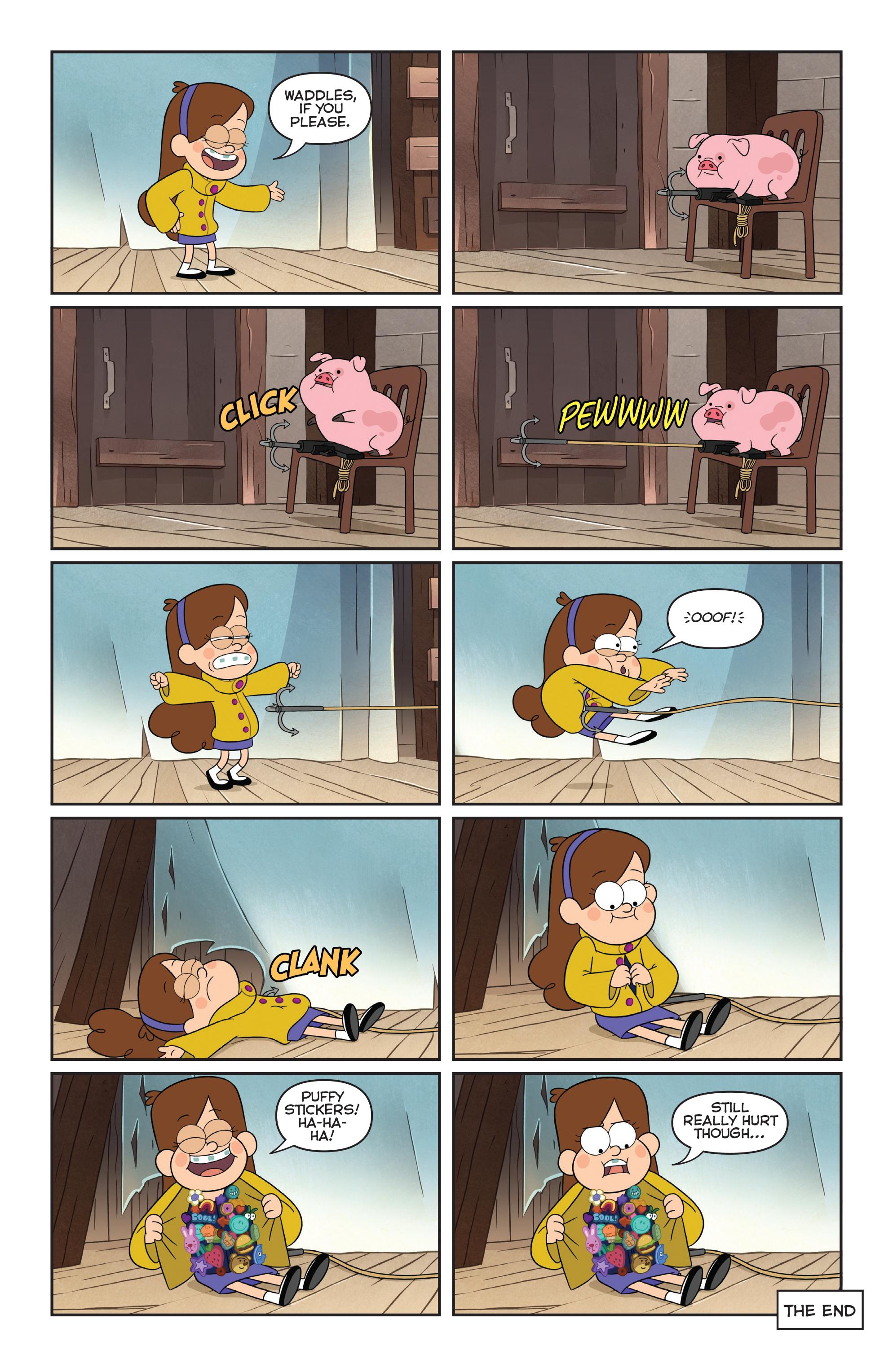Read online Disney Gravity Falls Shorts Cinestory Comic comic -  Issue #2 - 20