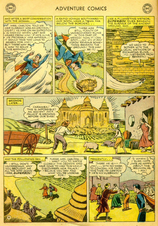 Read online Adventure Comics (1938) comic -  Issue #181 - 7