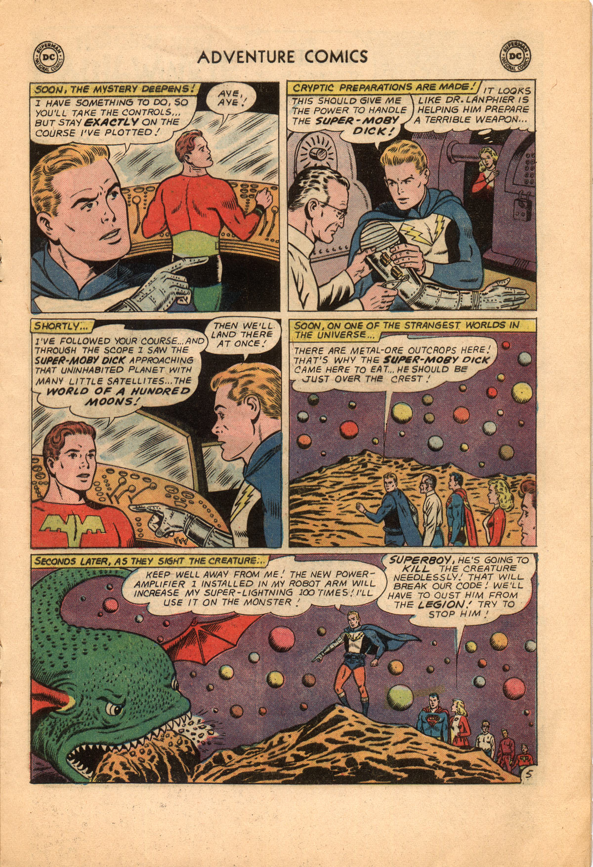 Read online Adventure Comics (1938) comic -  Issue #332 - 17