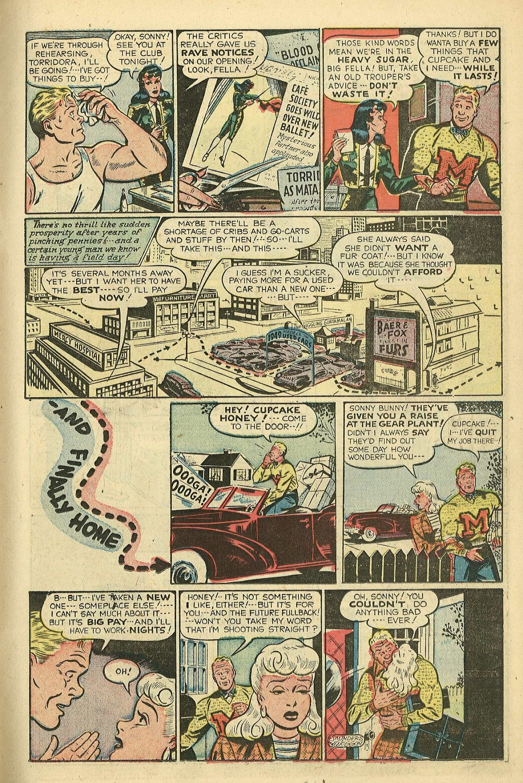 Read online Famous Funnies comic -  Issue #198 - 11