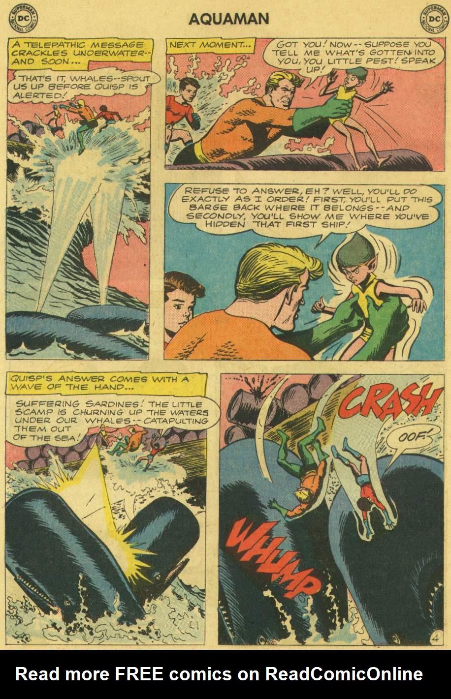 Read online Aquaman (1962) comic -  Issue #6 - 6
