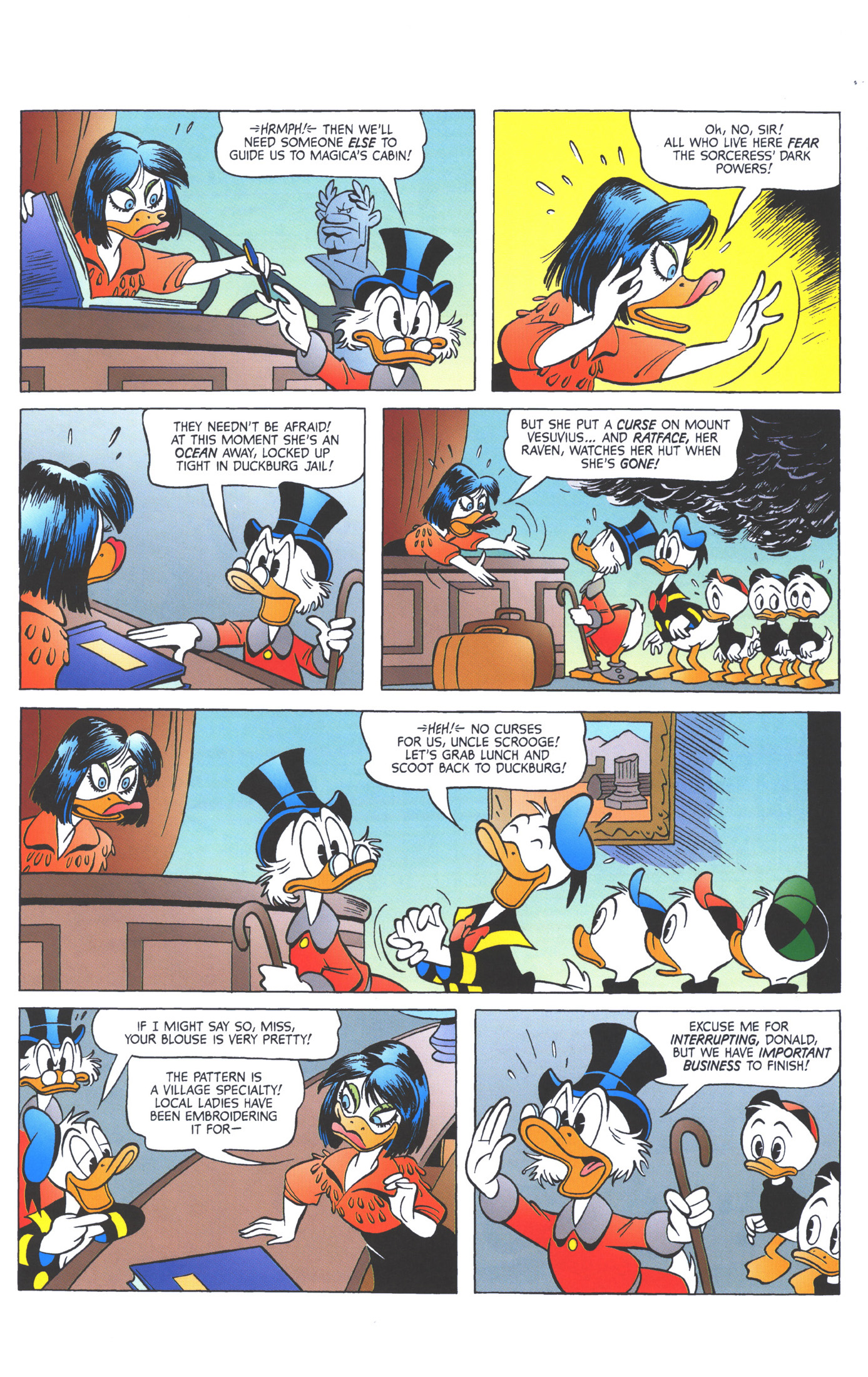 Read online Uncle Scrooge (1953) comic -  Issue #360 - 57