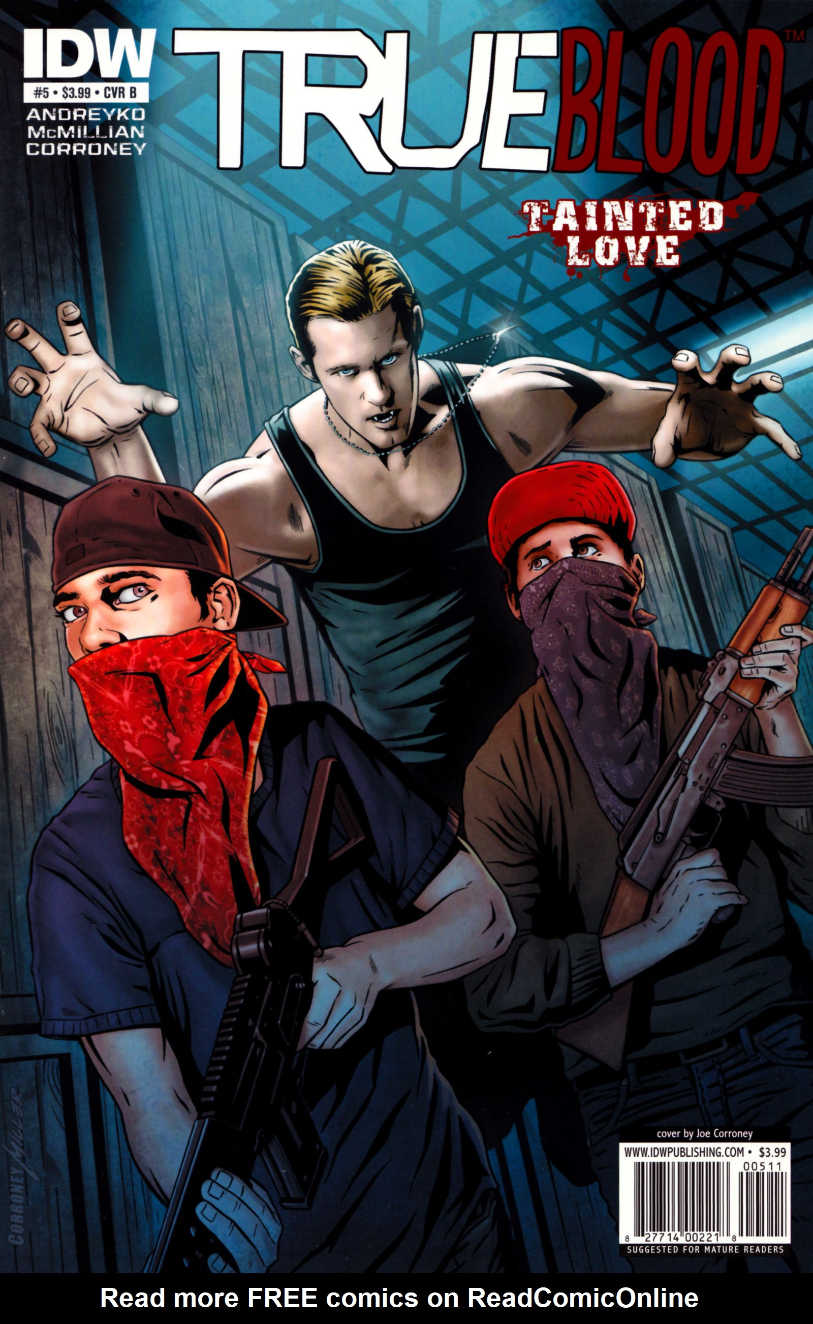 Read online True Blood: Tainted Love comic -  Issue #5 - 2