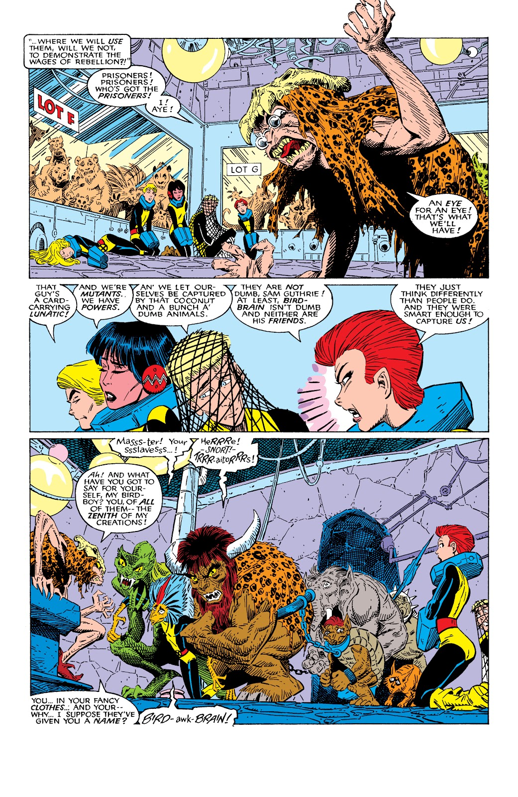 Read online X-Men Milestones: Fall of the Mutants comic -  Issue # TPB (Part 2) - 11